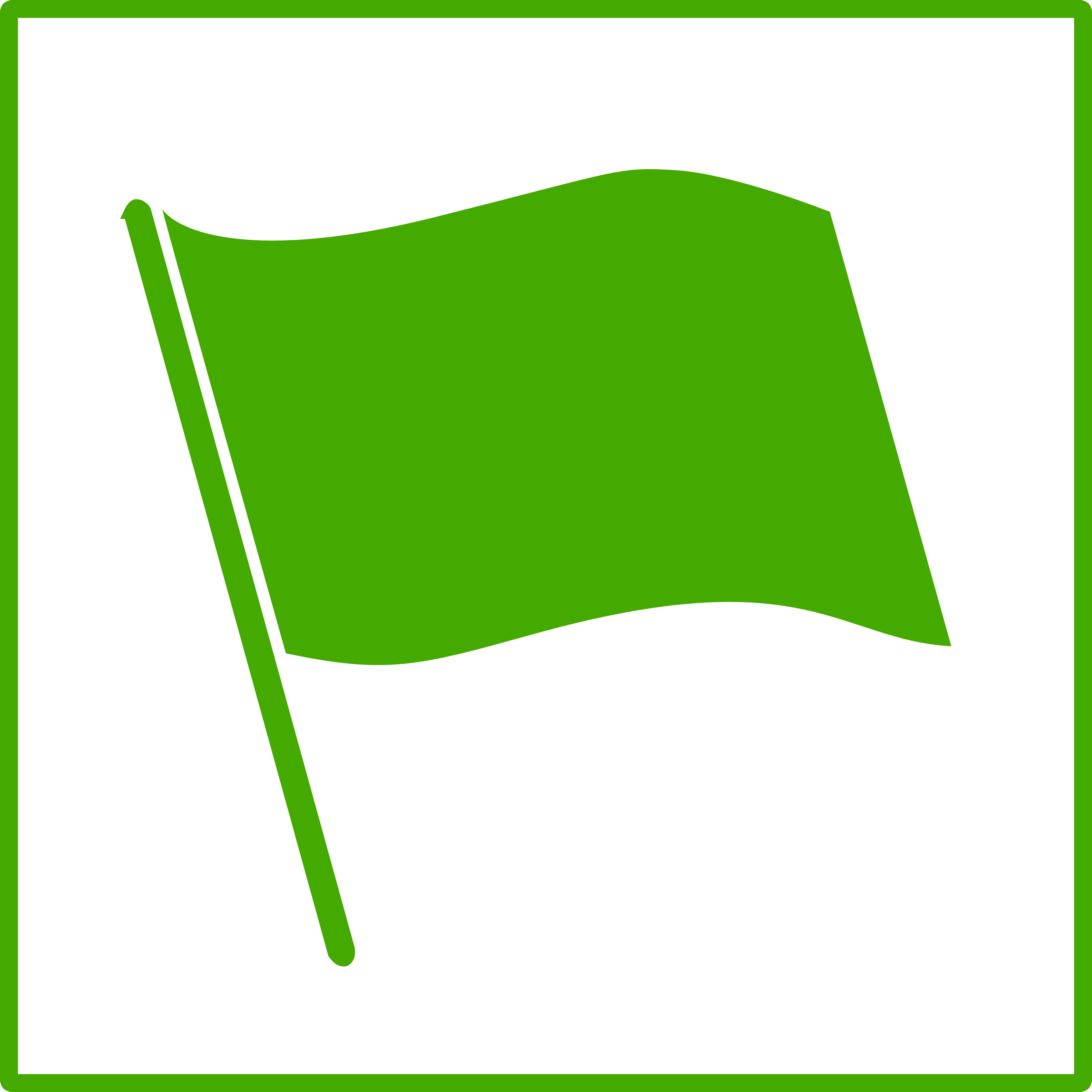 eco green flag icon by dominiquechappard