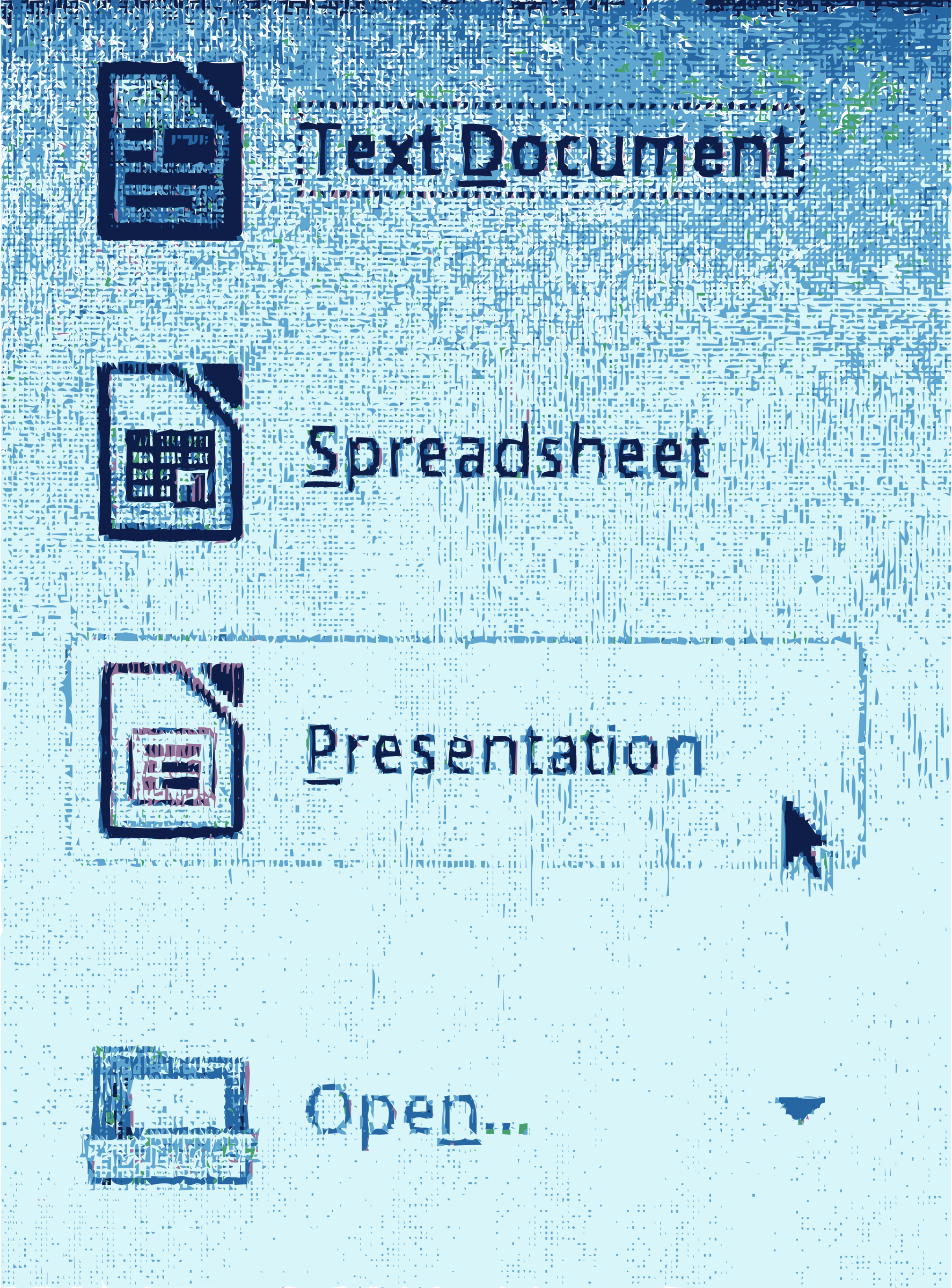 New libreoffice presentation template by rejon