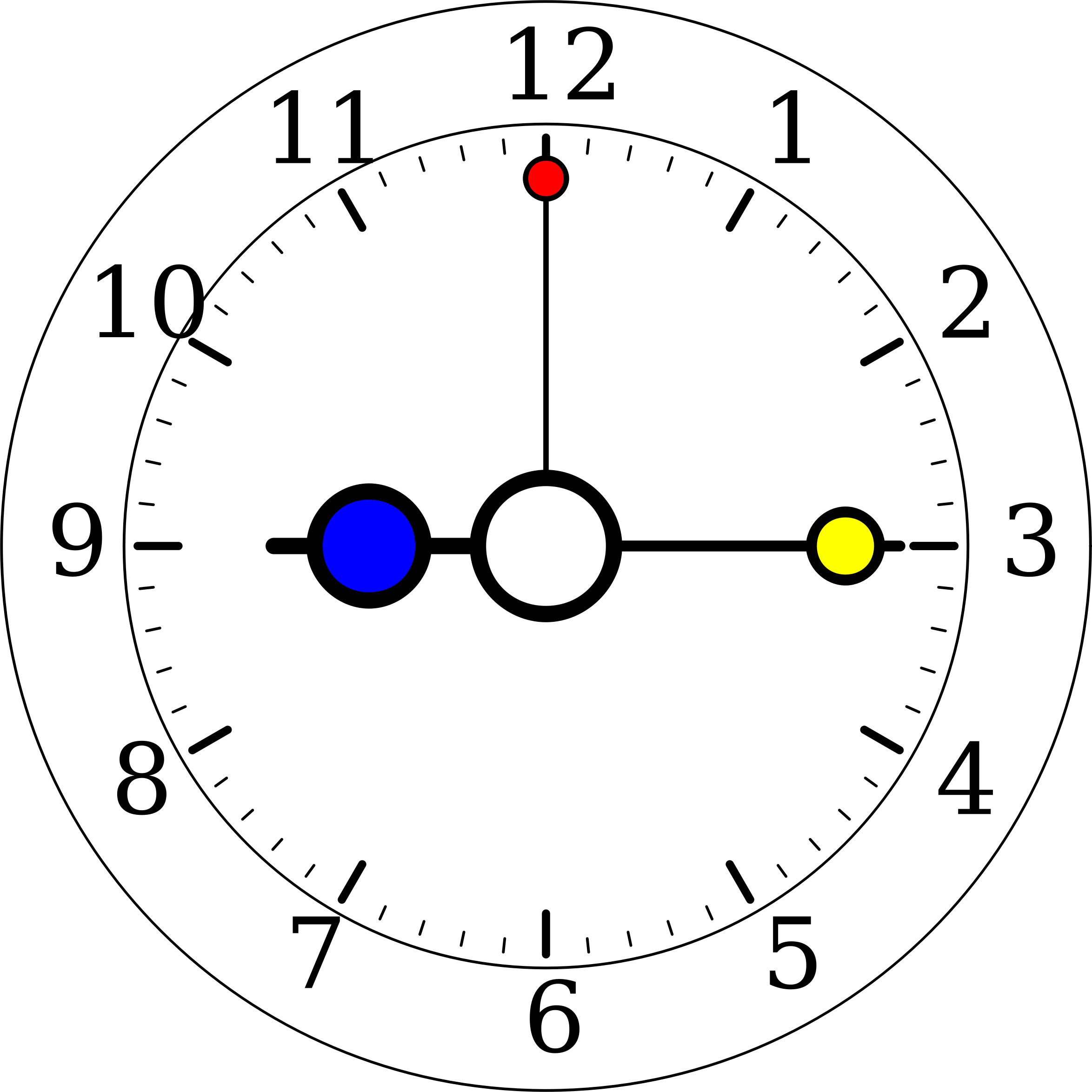 Colour Clock 5 by gringer