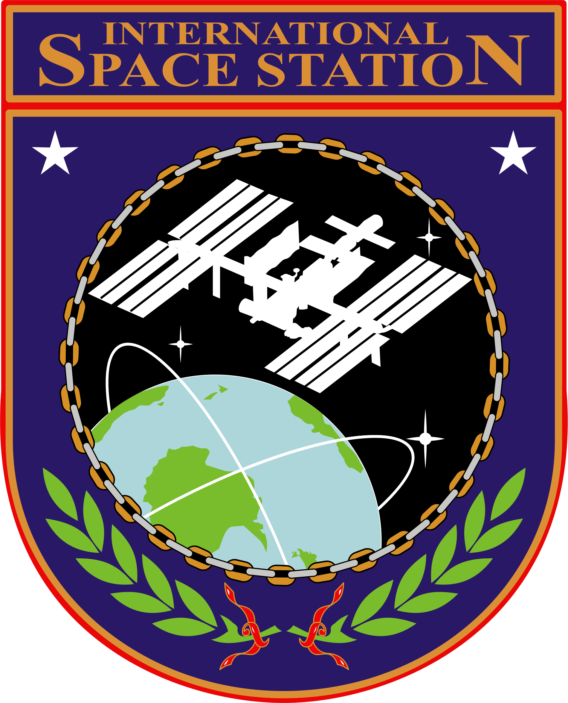 ISS Insignia by NASA