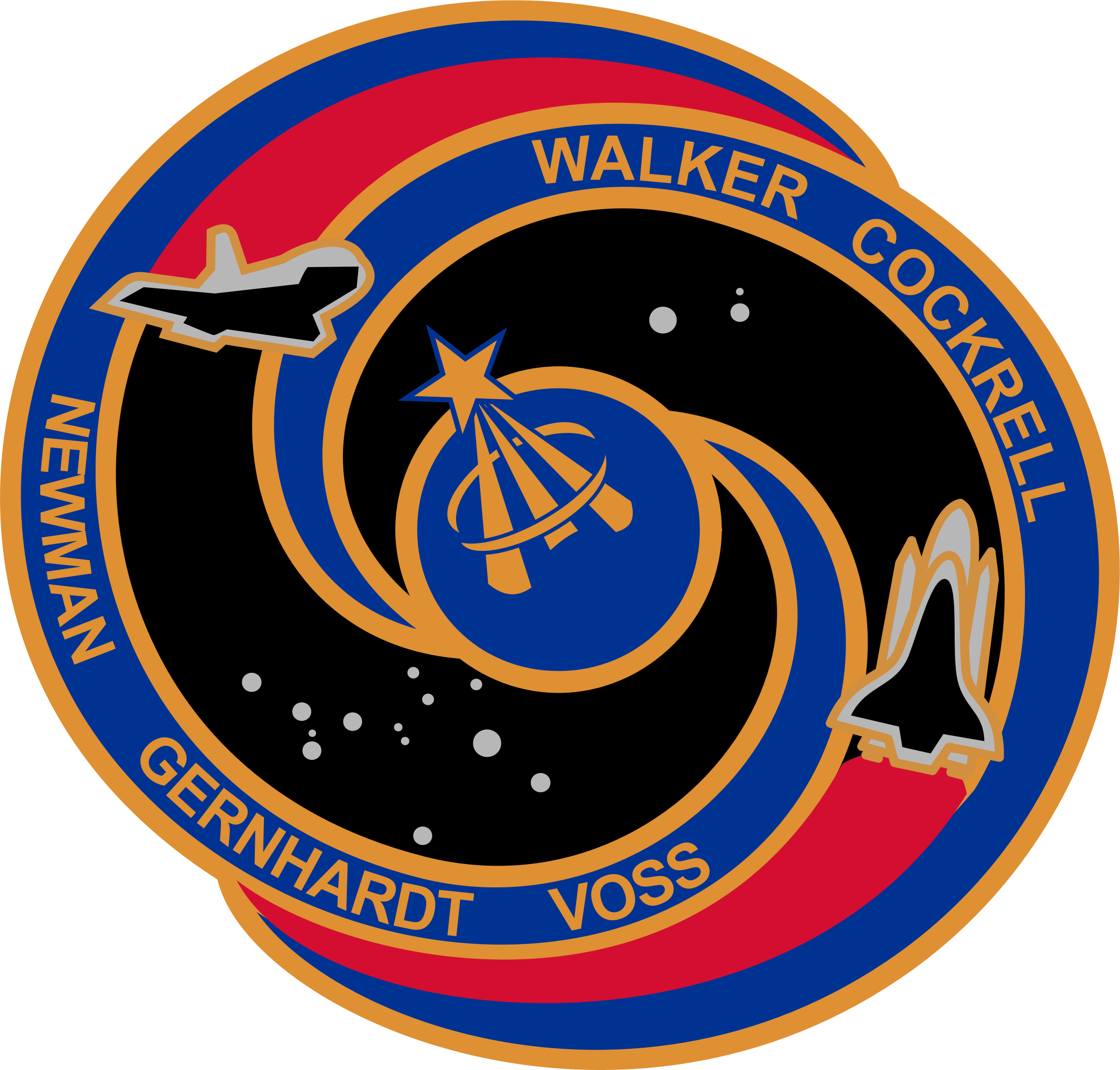 STS-69 Patch by NASA