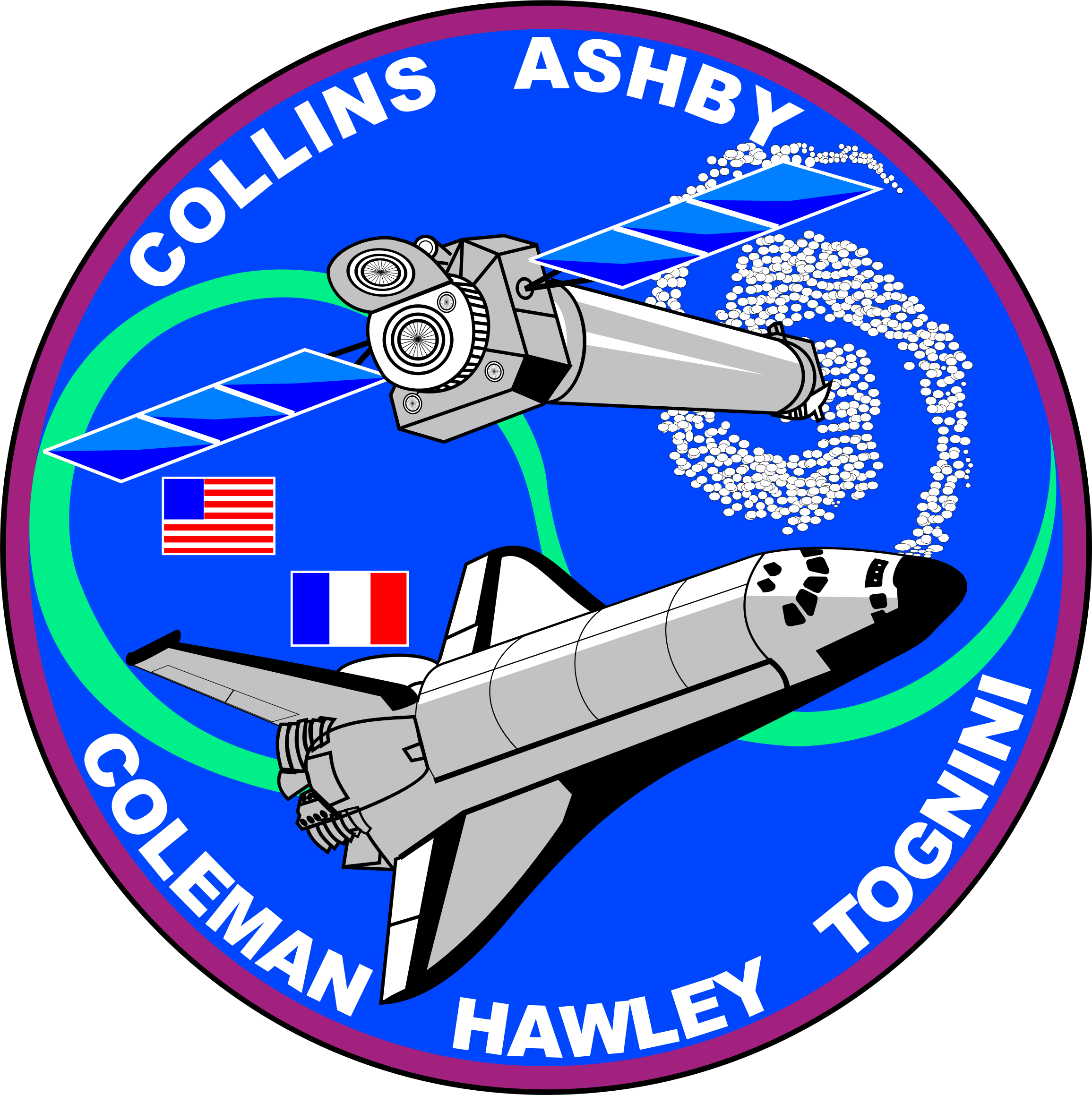 STS-93 Patch by NASA
