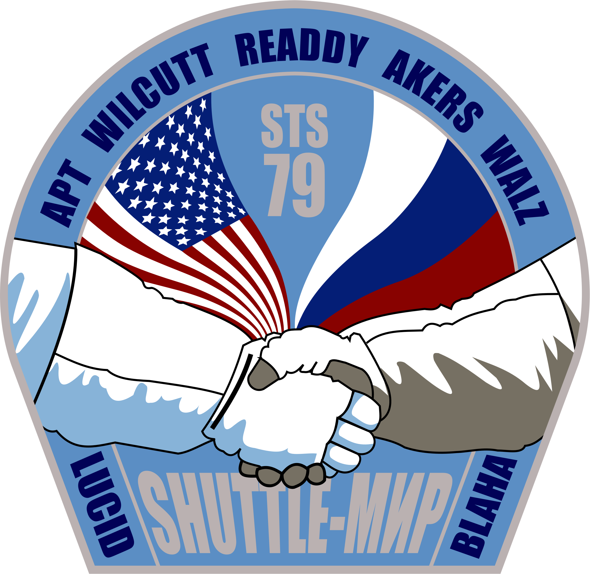 STS-79 Patch by NASA