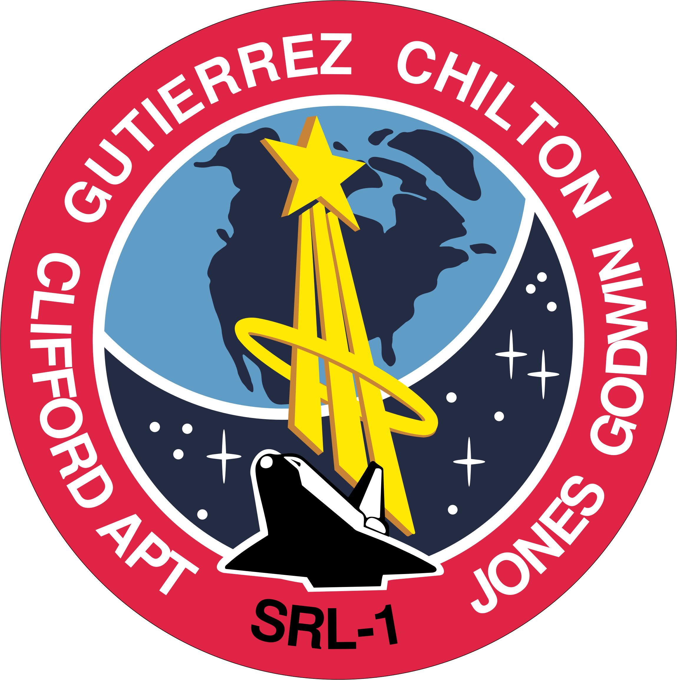 STS-59 Mission Insignia by NASA