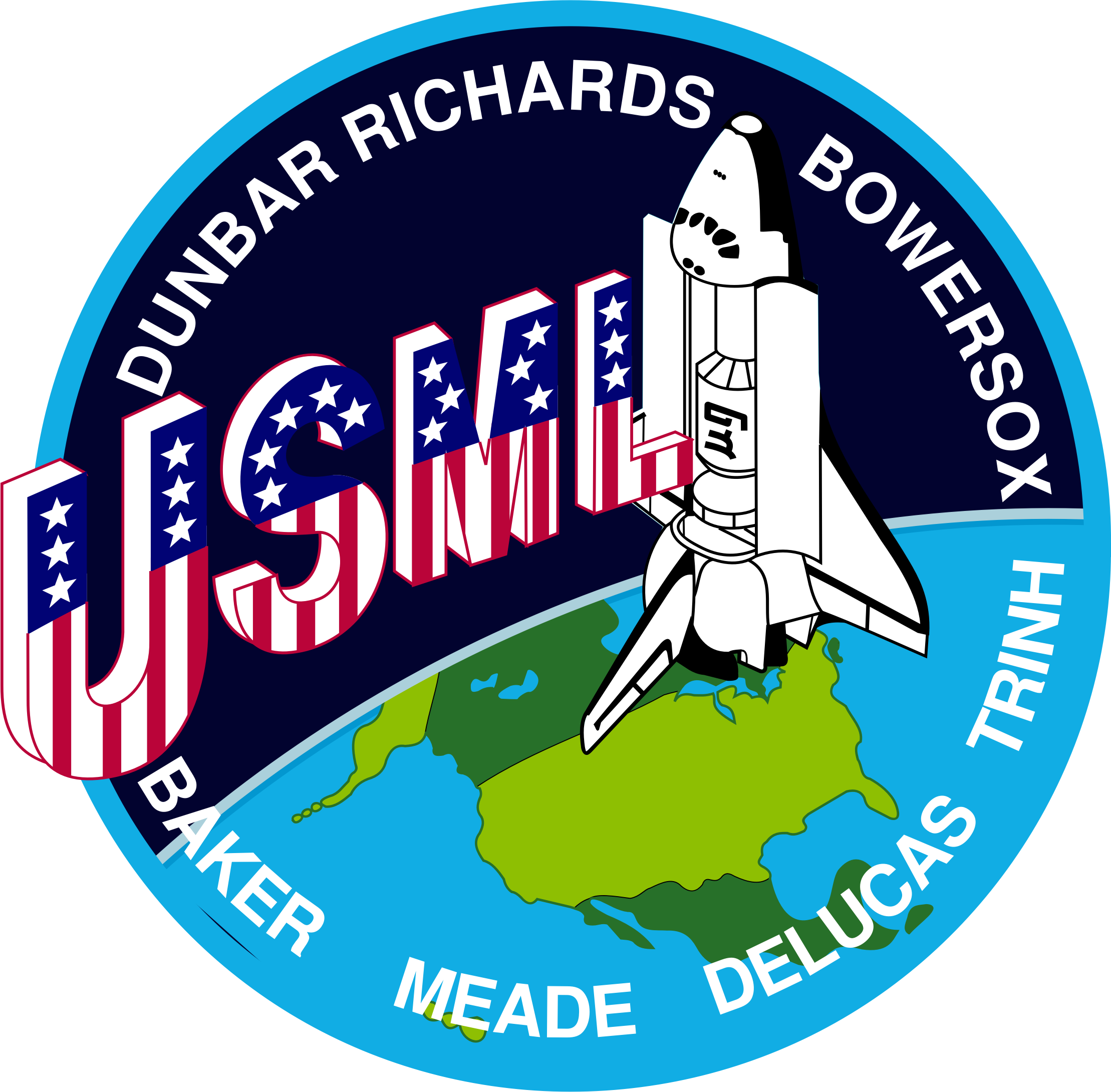 STS-50 Patch by NASA
