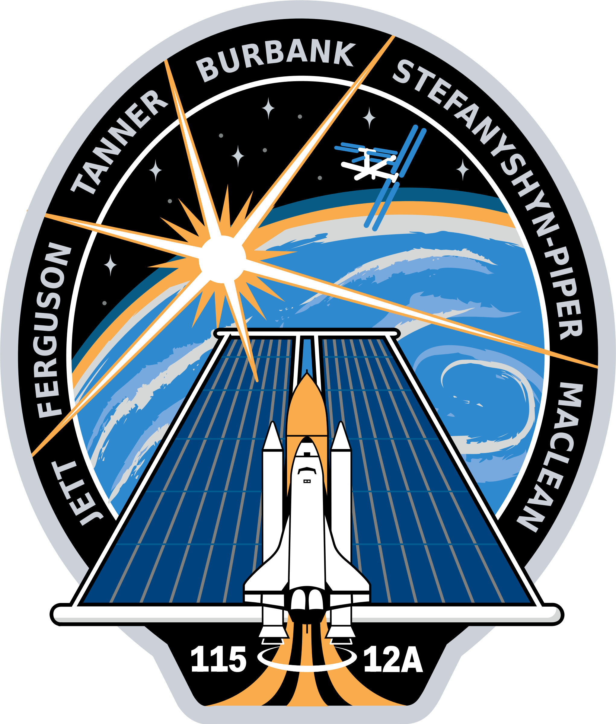 STS-115 Patch by NASA