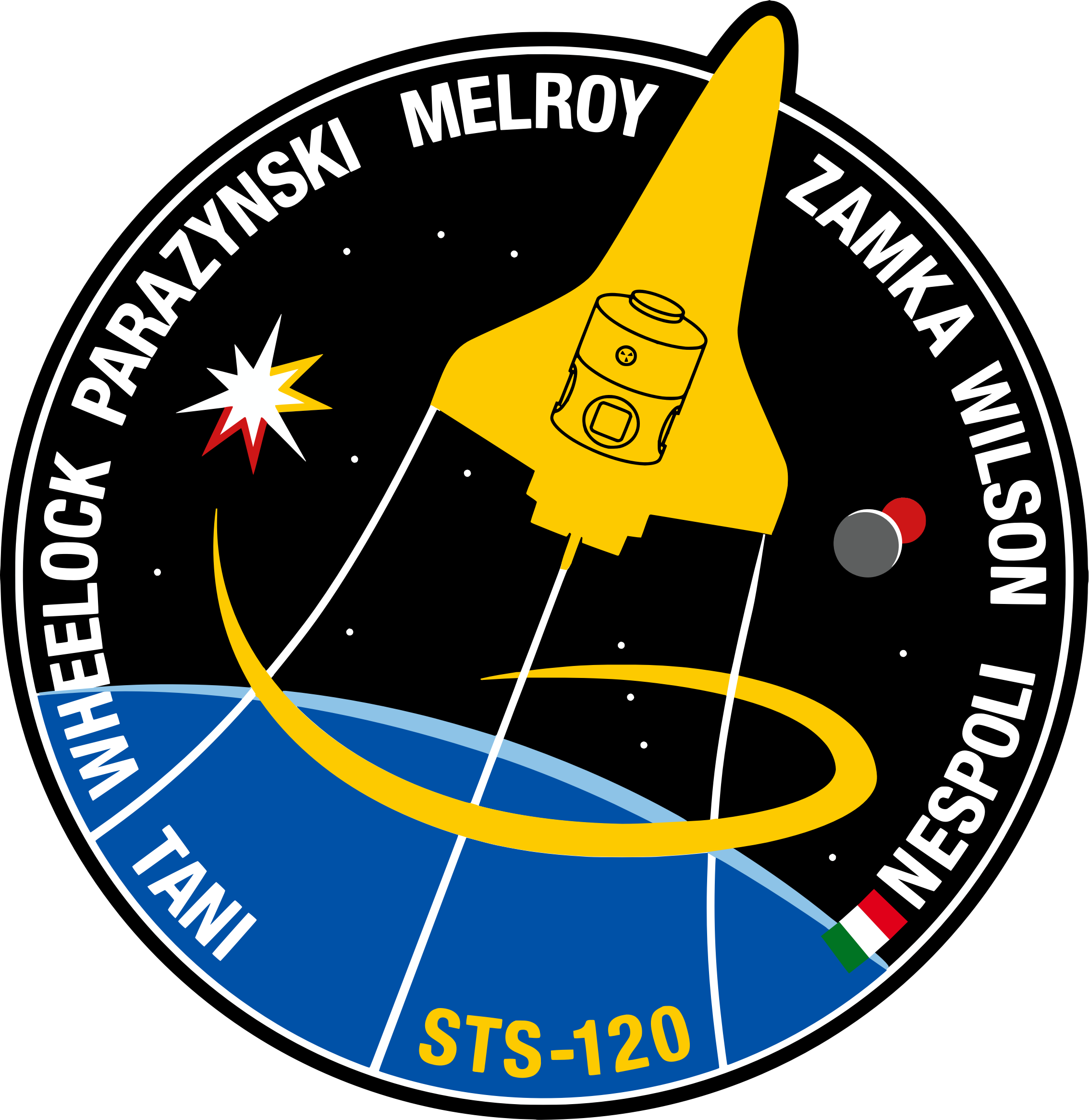 STS-120 Patch by NASA