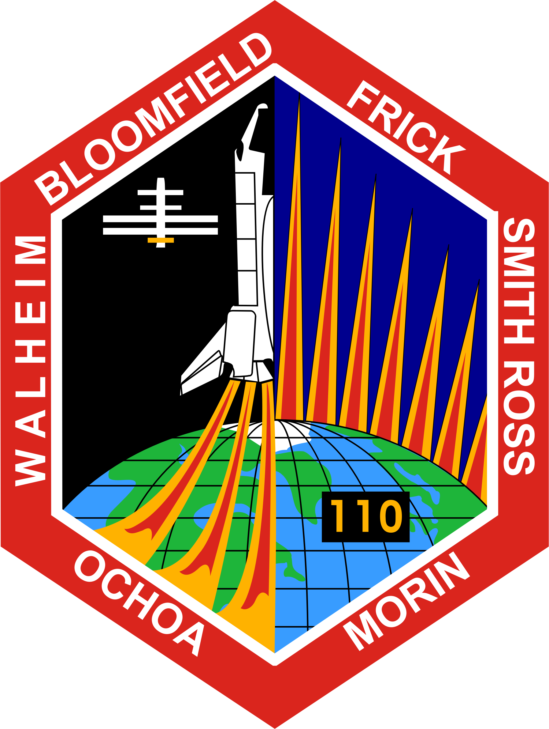 STS-110 Patch by NASA
