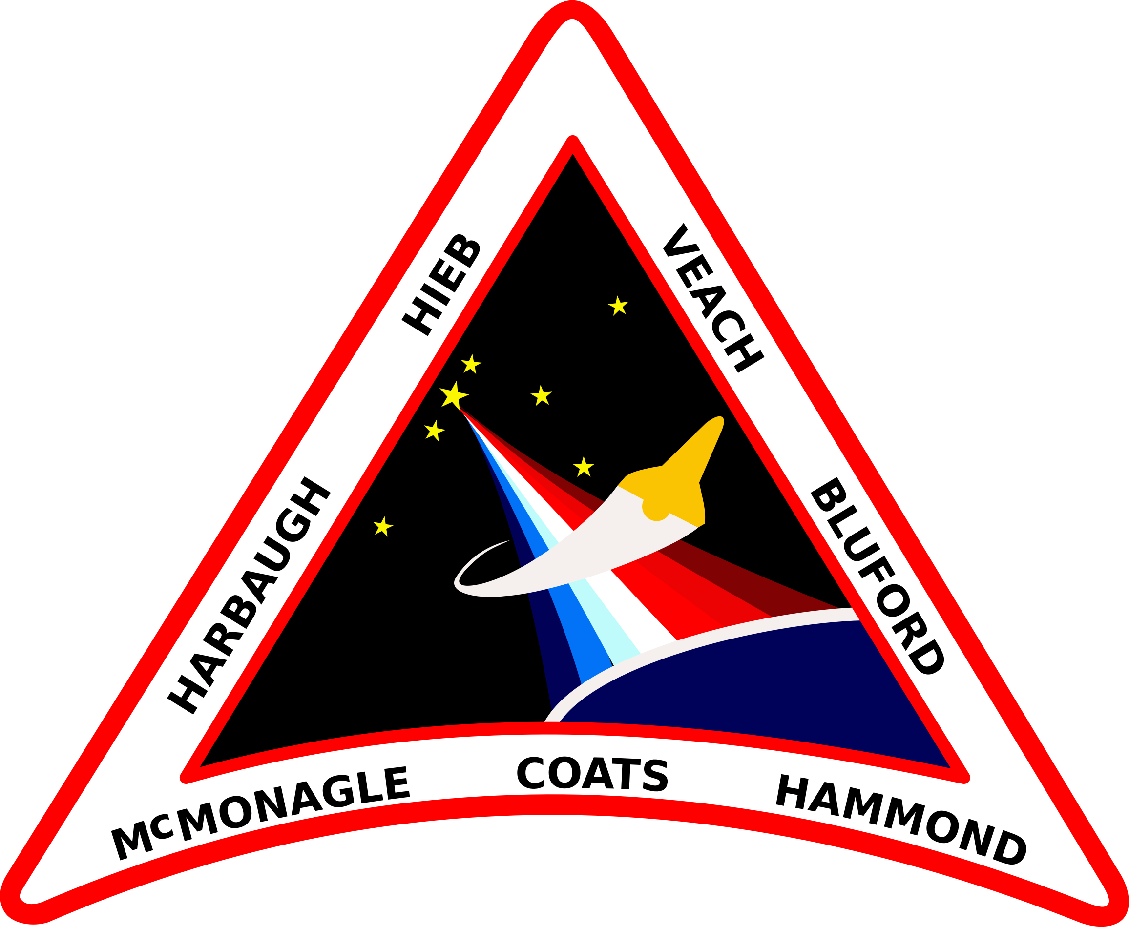STS-39 Patch by NASA