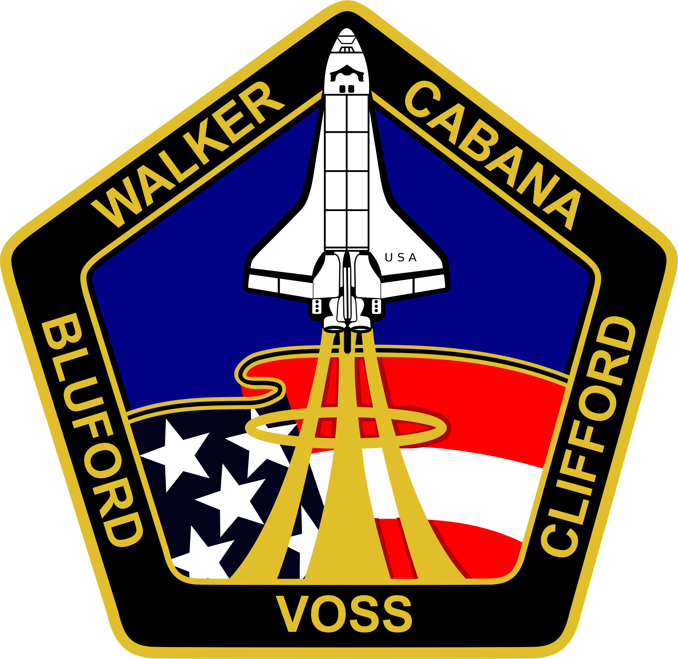 STS-53 Patch by NASA