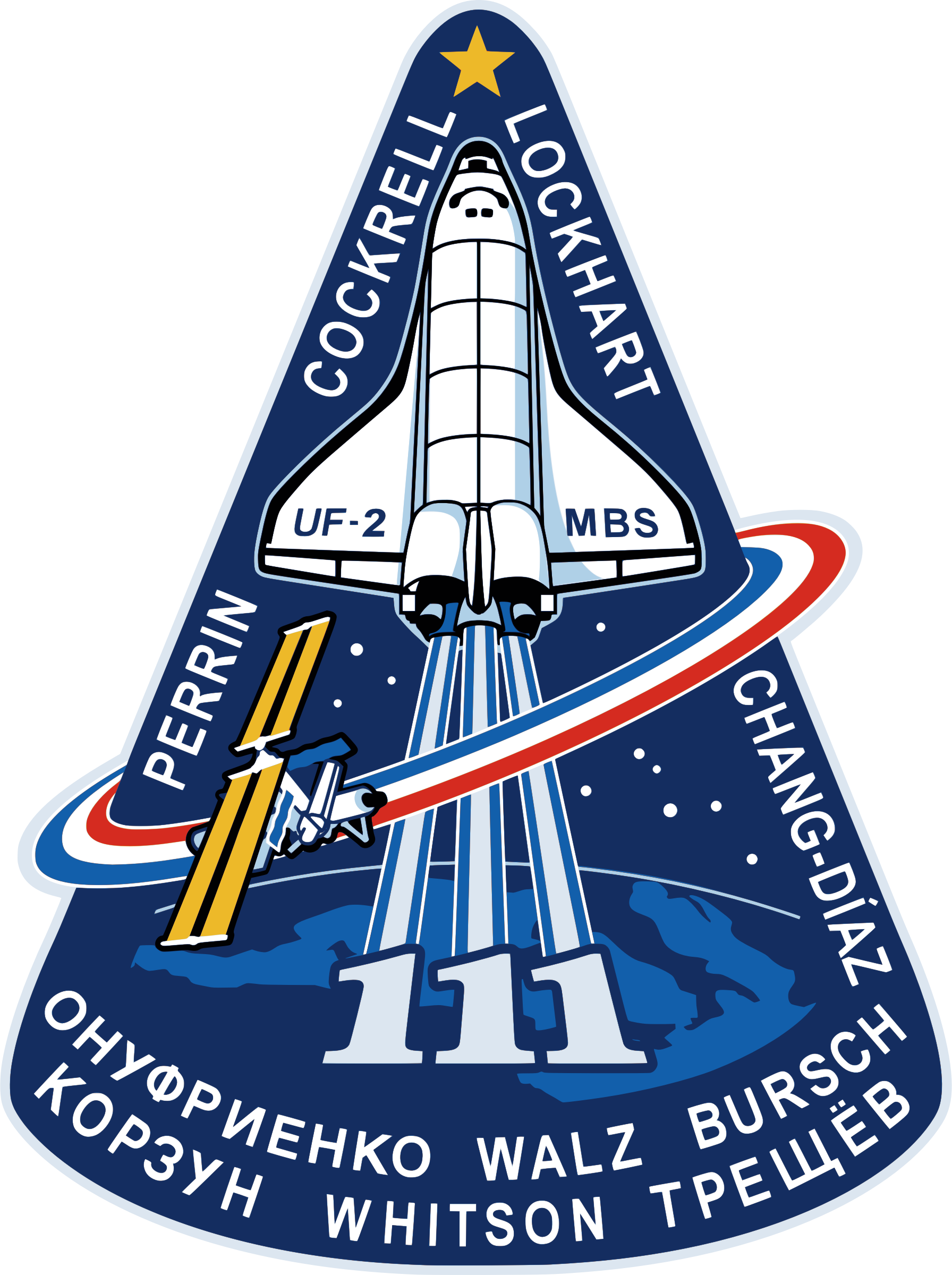 STS-111 Patch by NASA