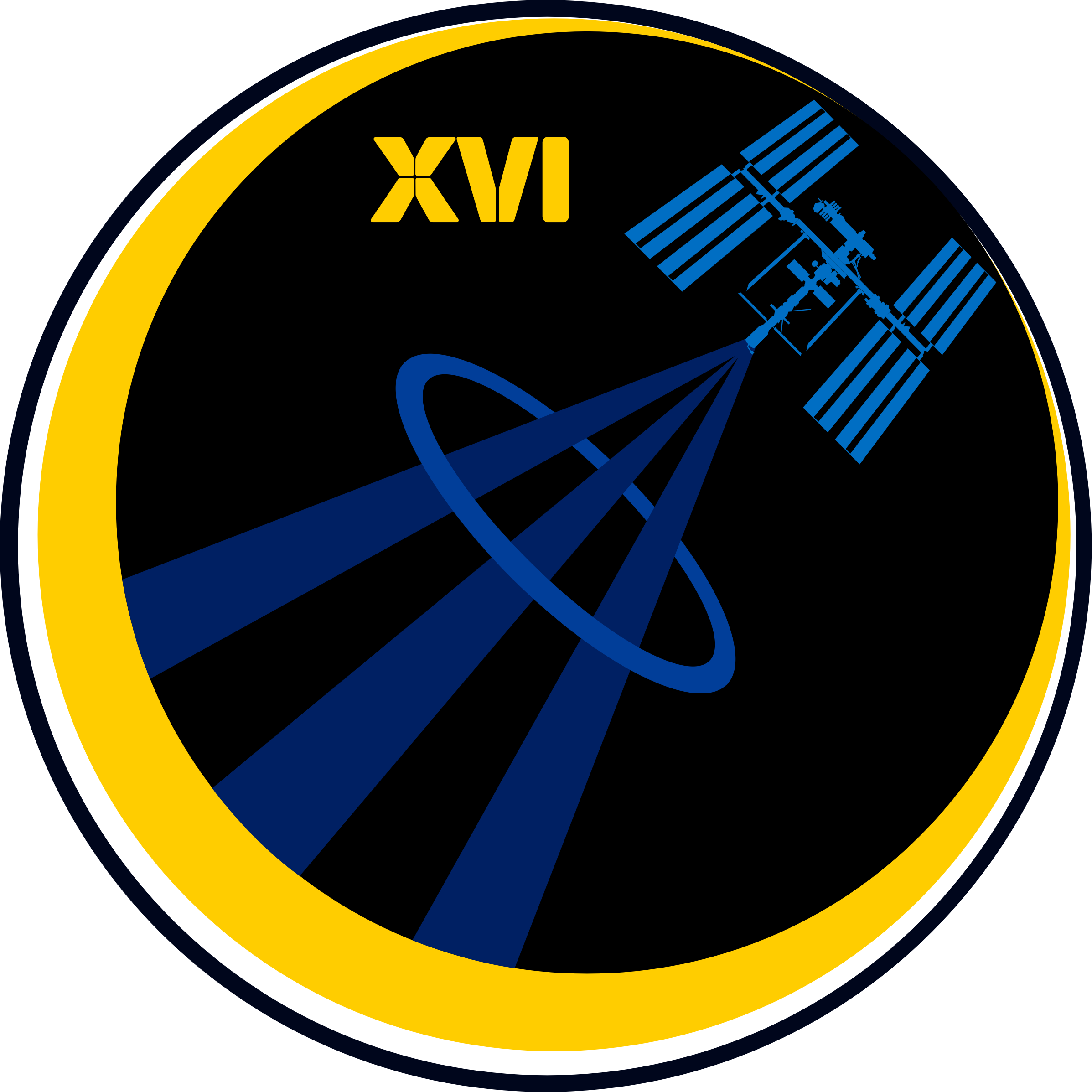 ISS Expedition 16 Patch by NASA