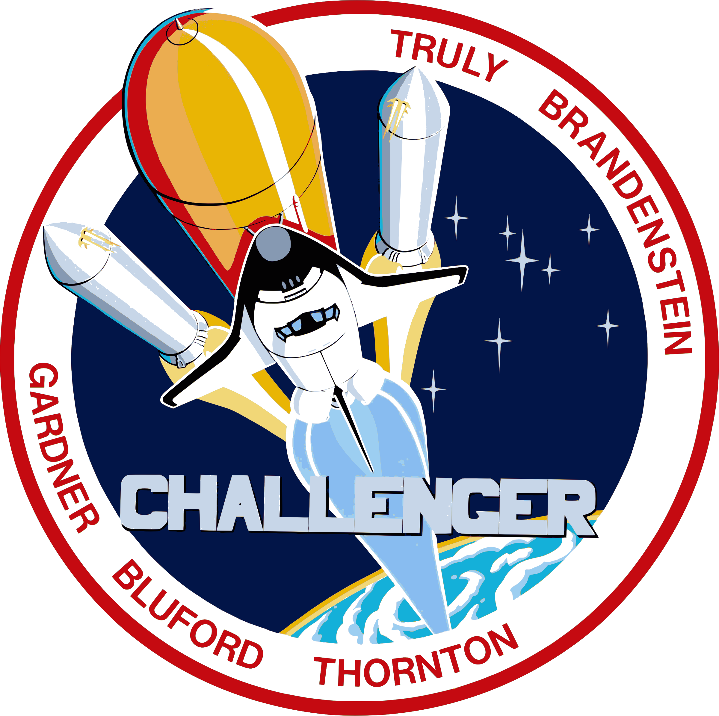 Clipart - STS-8 Patch