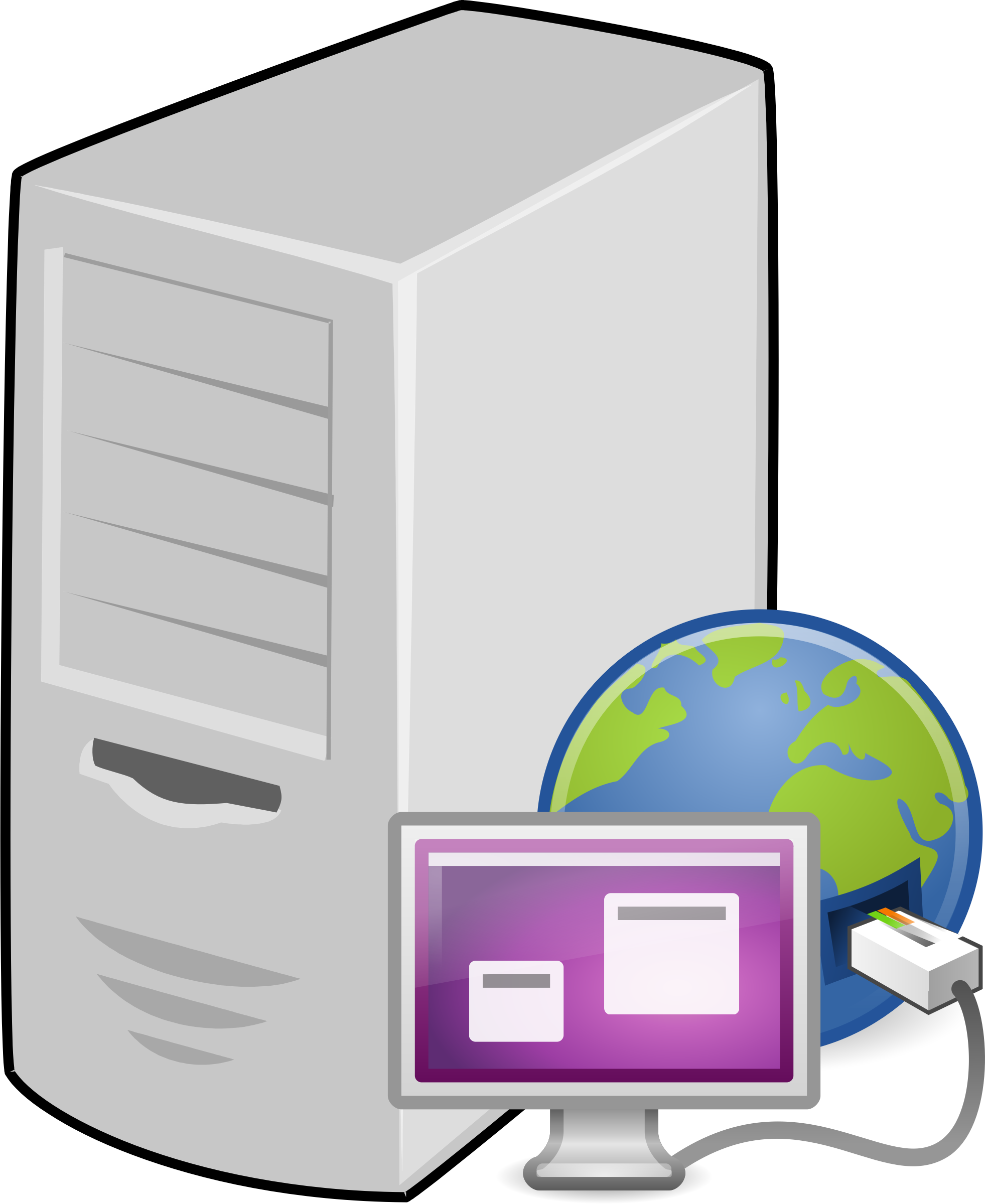 clipart terminal server rh openclipart org service clipart server clipart for powerpoint