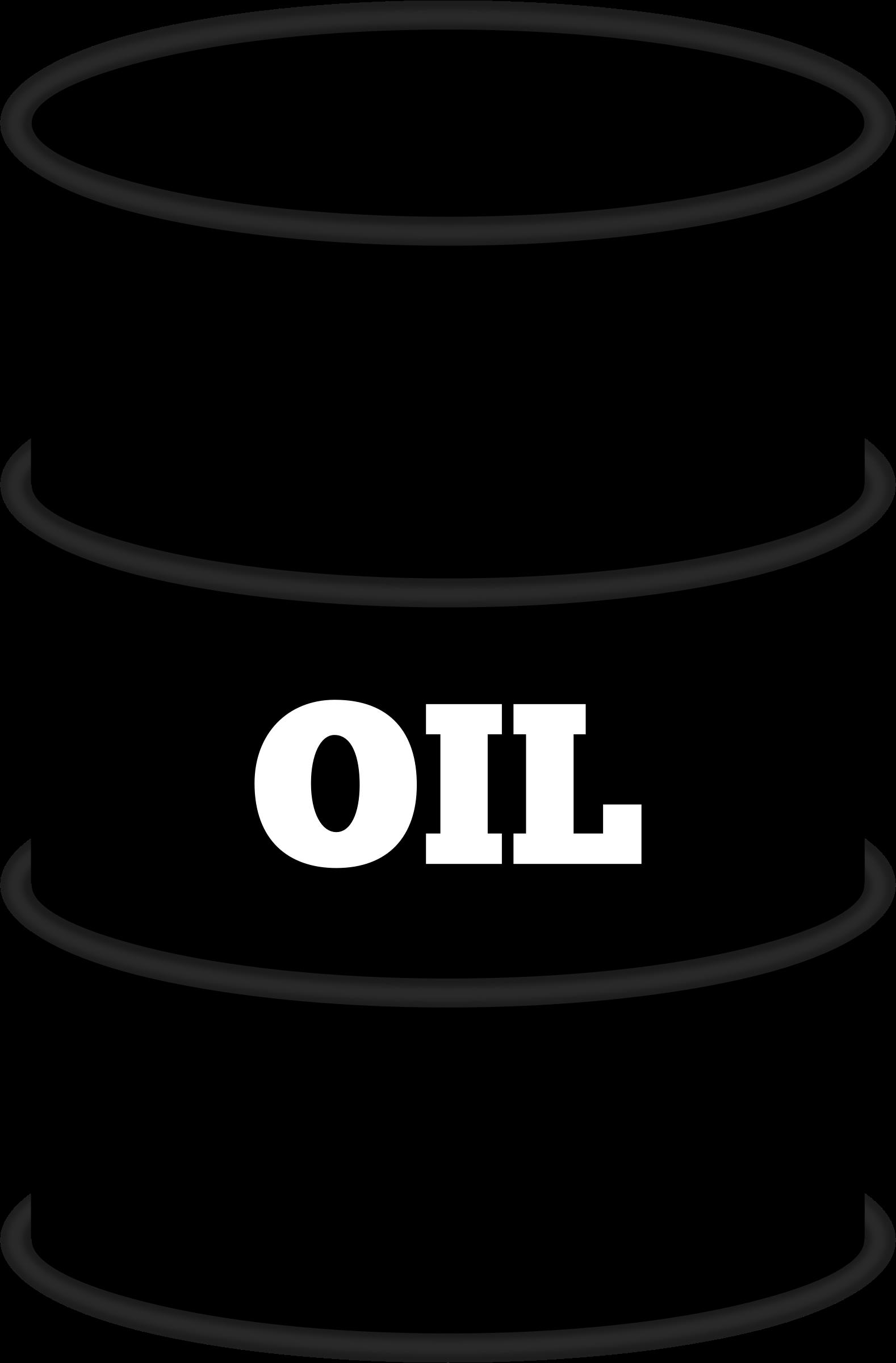 Clipart Oil Barrel