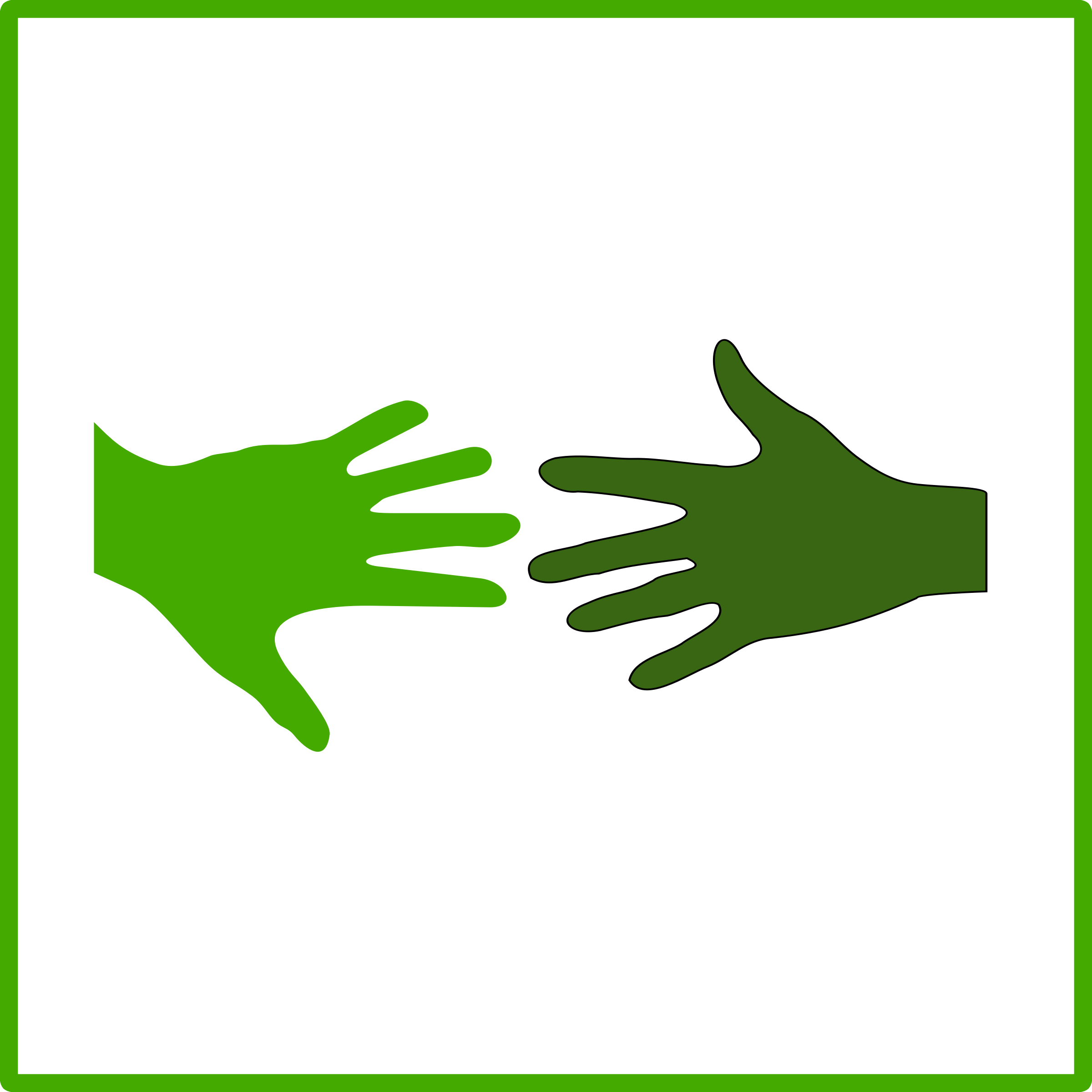 eco green solidarity icon by dominiquechappard