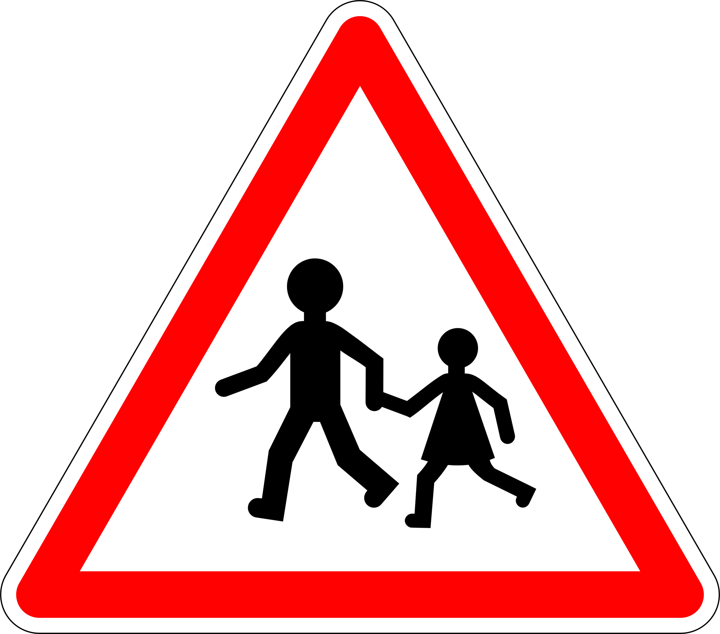School exit warning tab by Justin Ternet