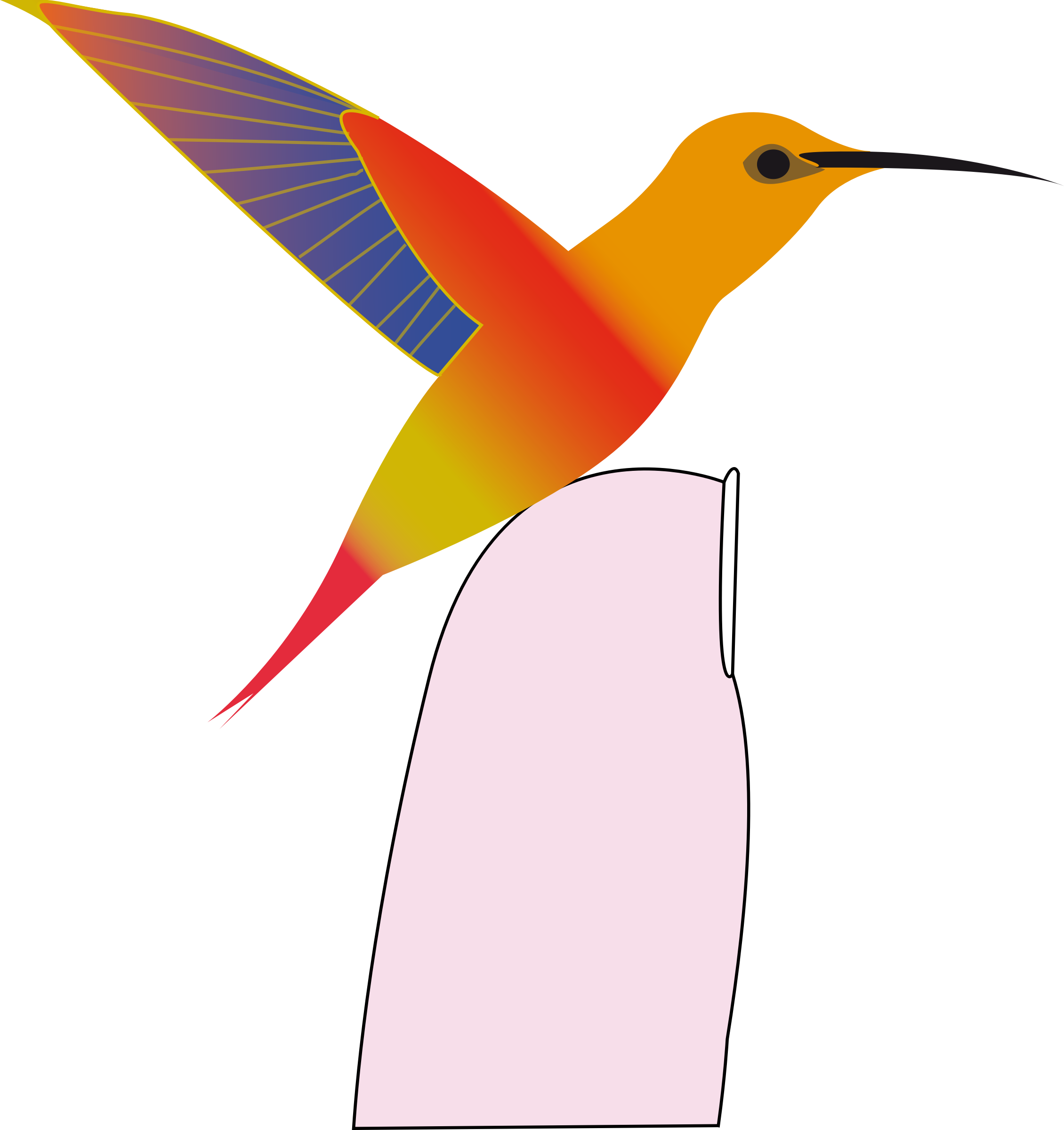 hummingbird by presquesage