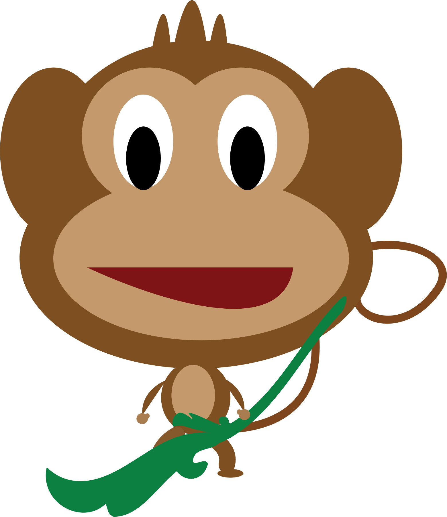 Monkey by syforce1999