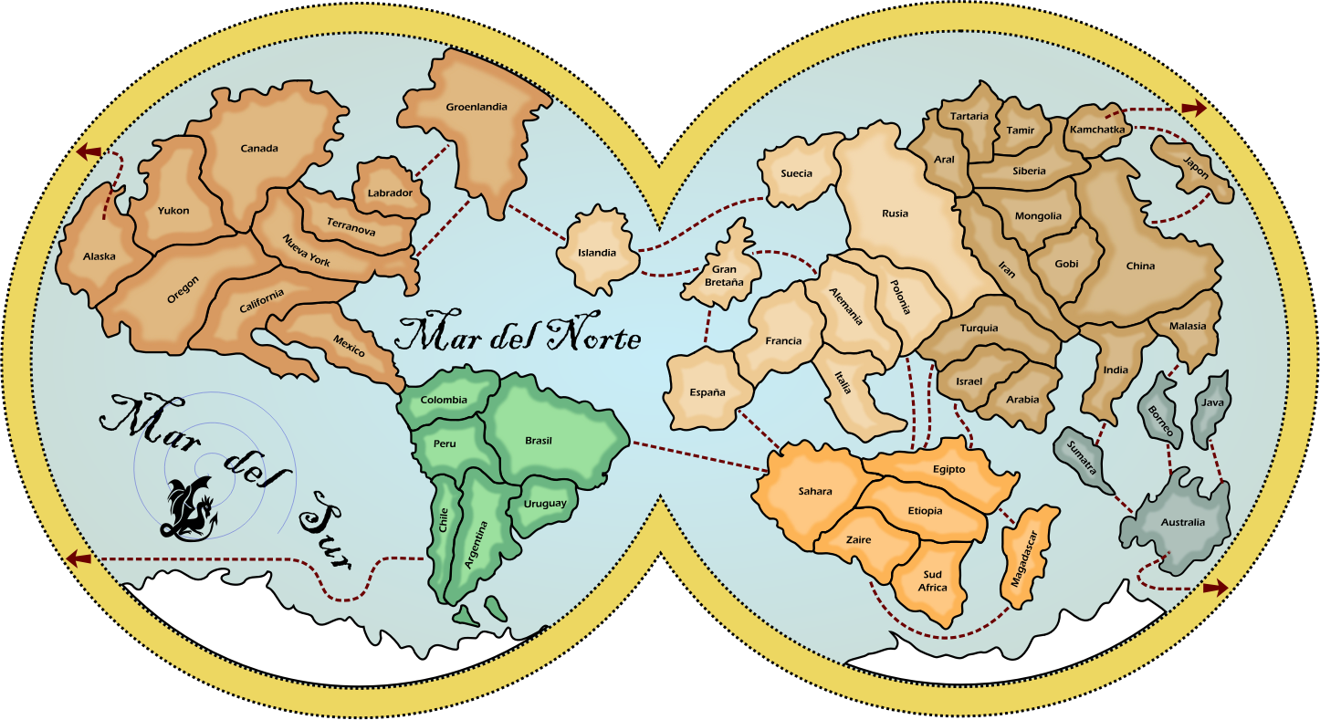 World Map by margodth