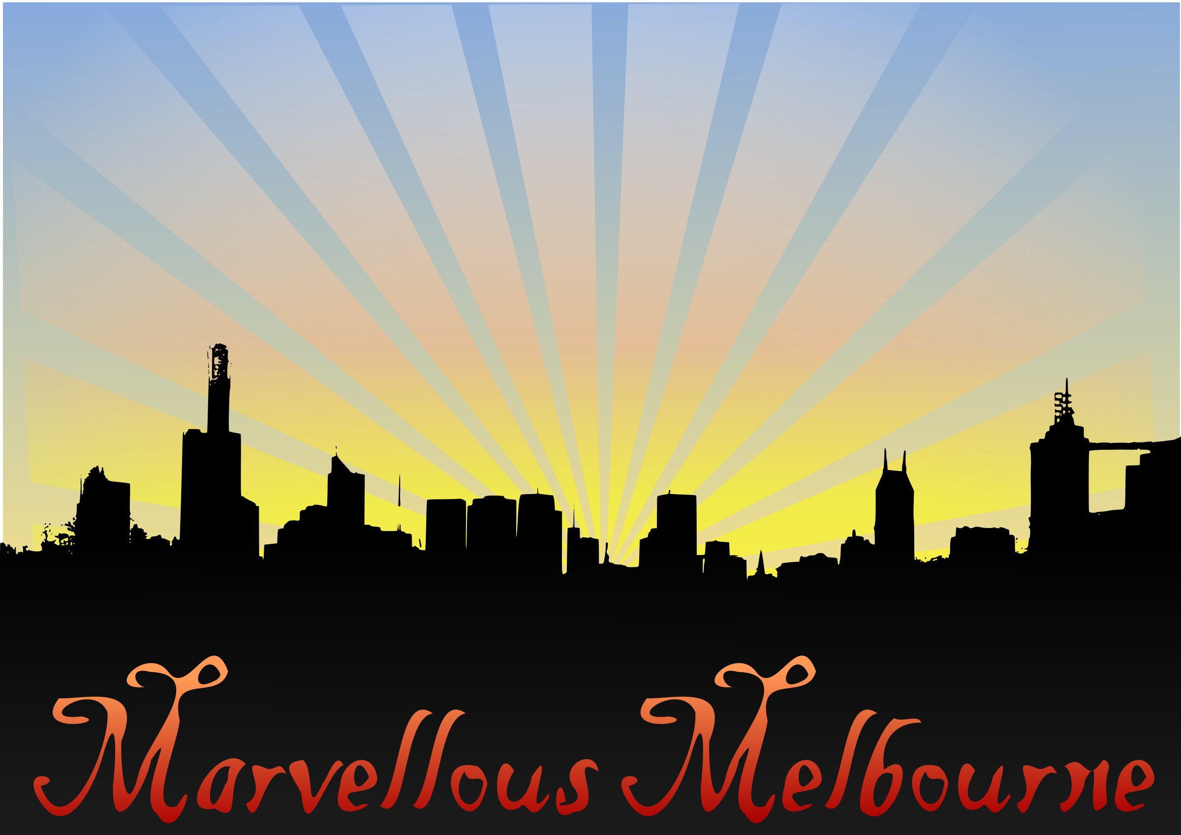 Marvellouse Melbourne by kattekrab