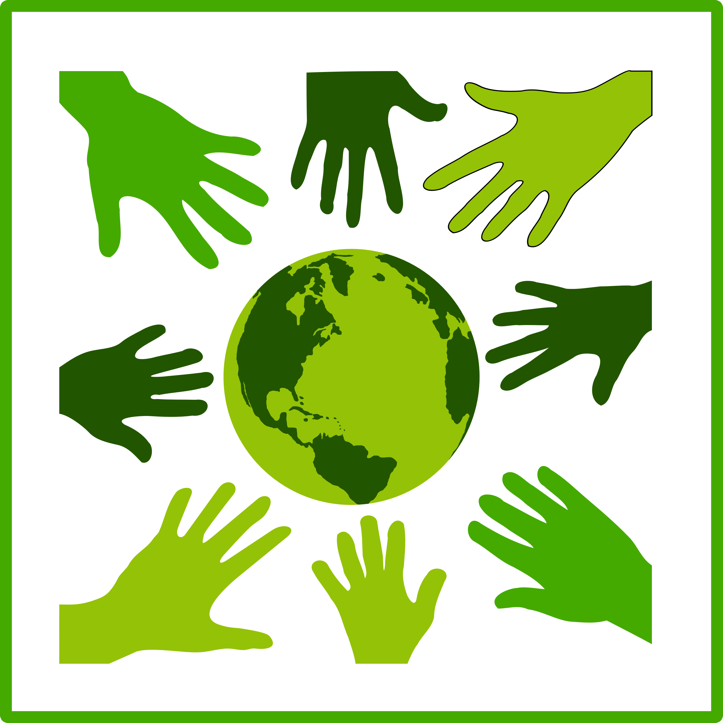 clipart eco green solidarity icon gods open hands clipart open hands clip art right and left