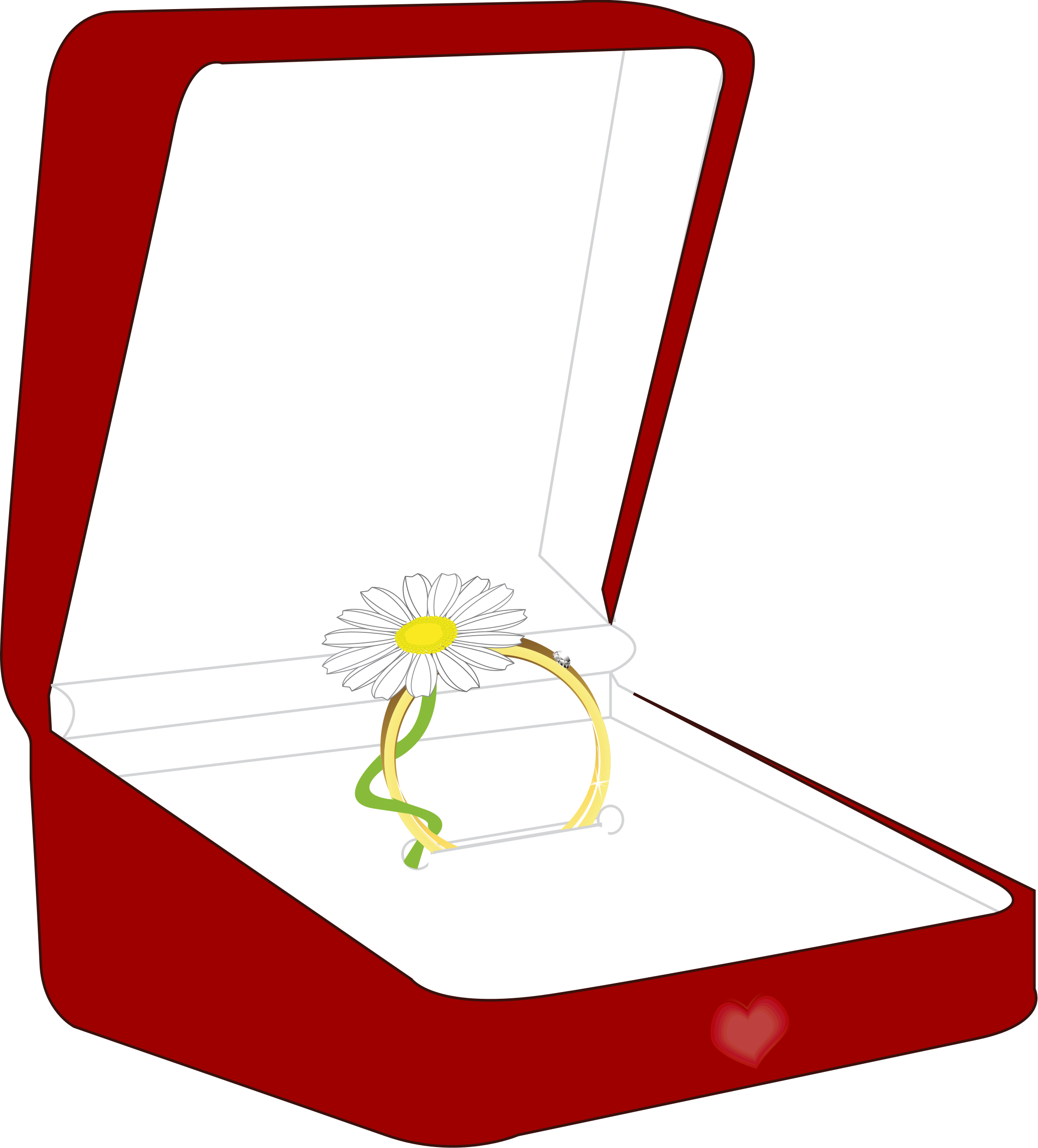 a ring box by presquesage