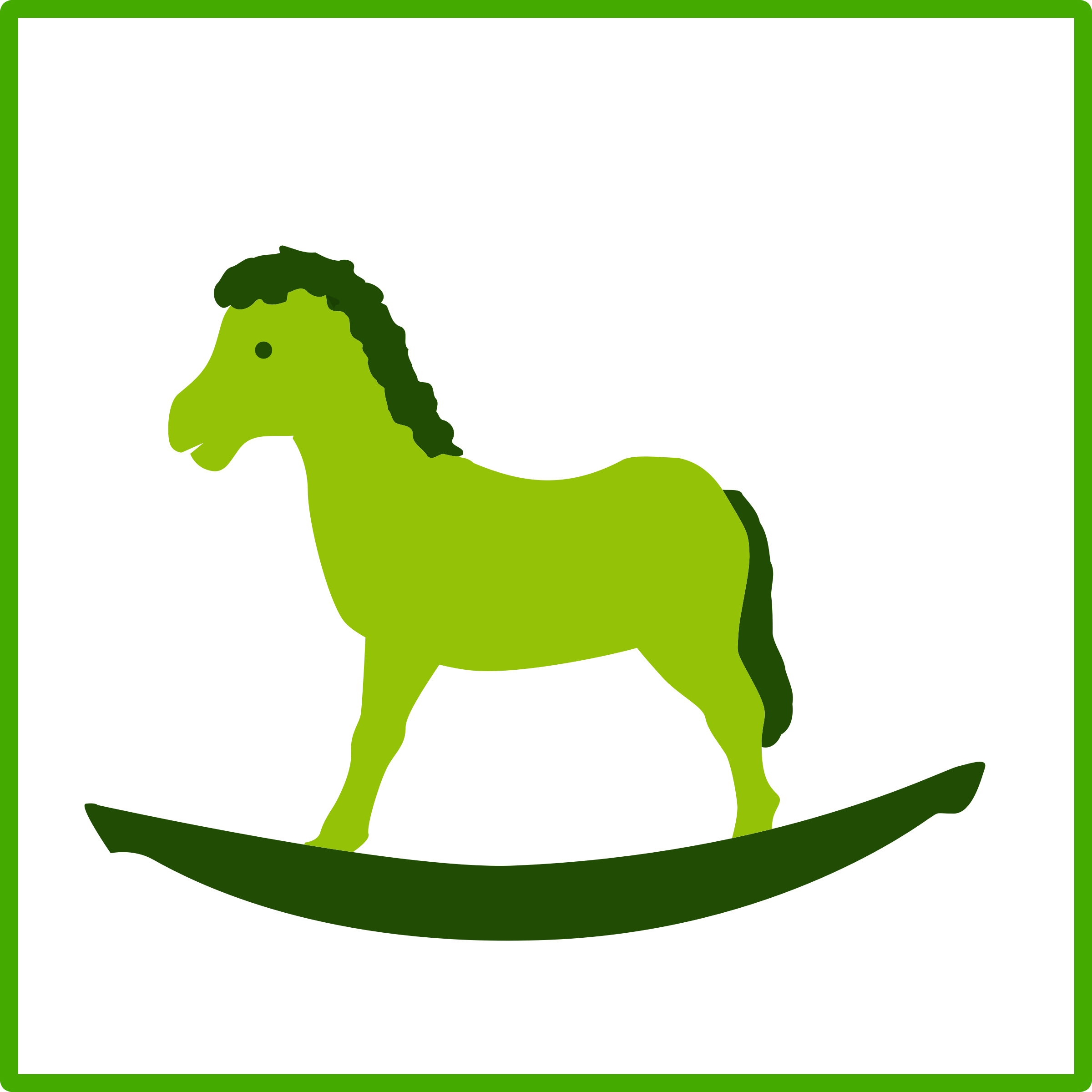 eco green toy icon by dominiquechappard