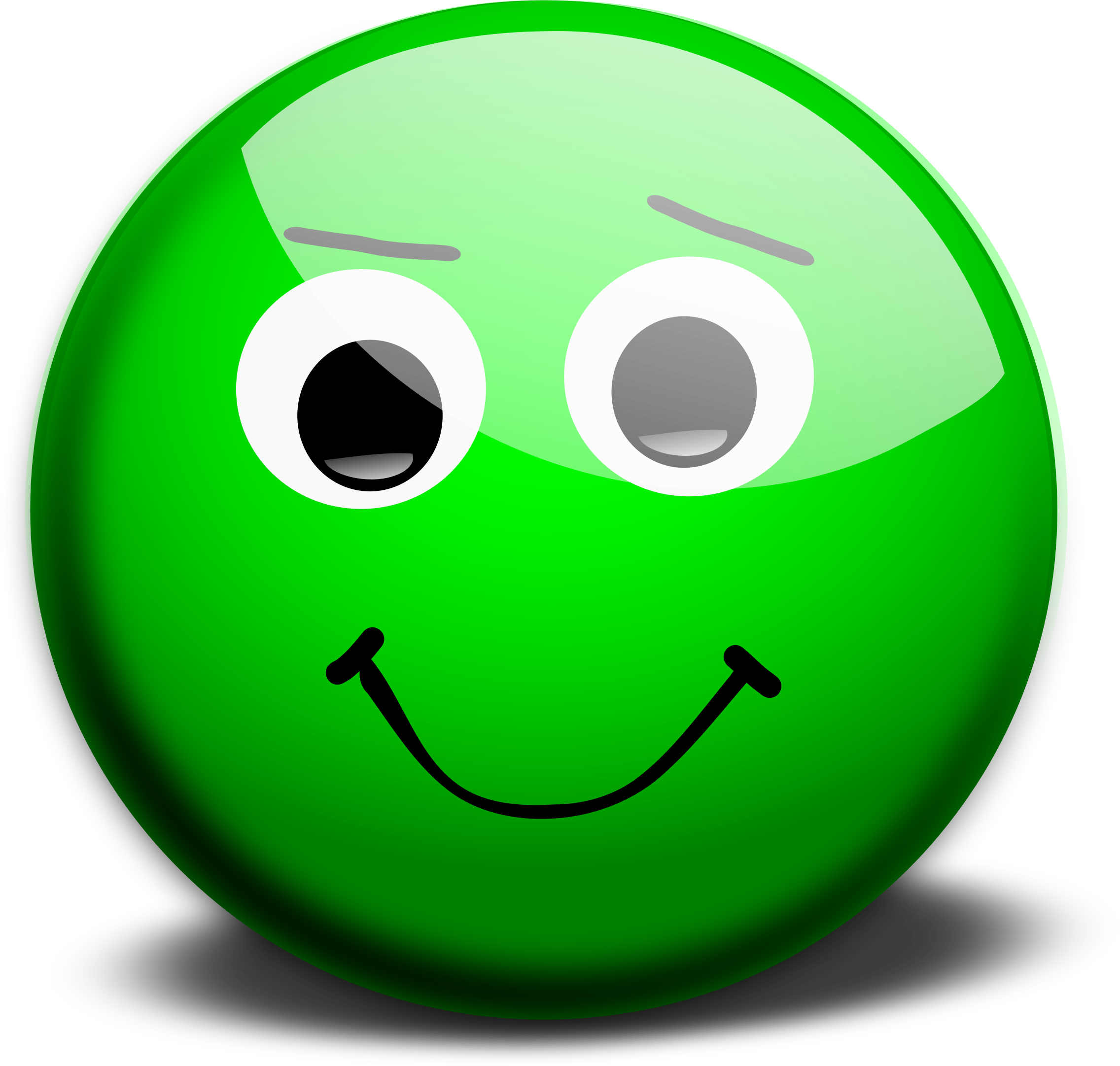 Clipart - Happy face