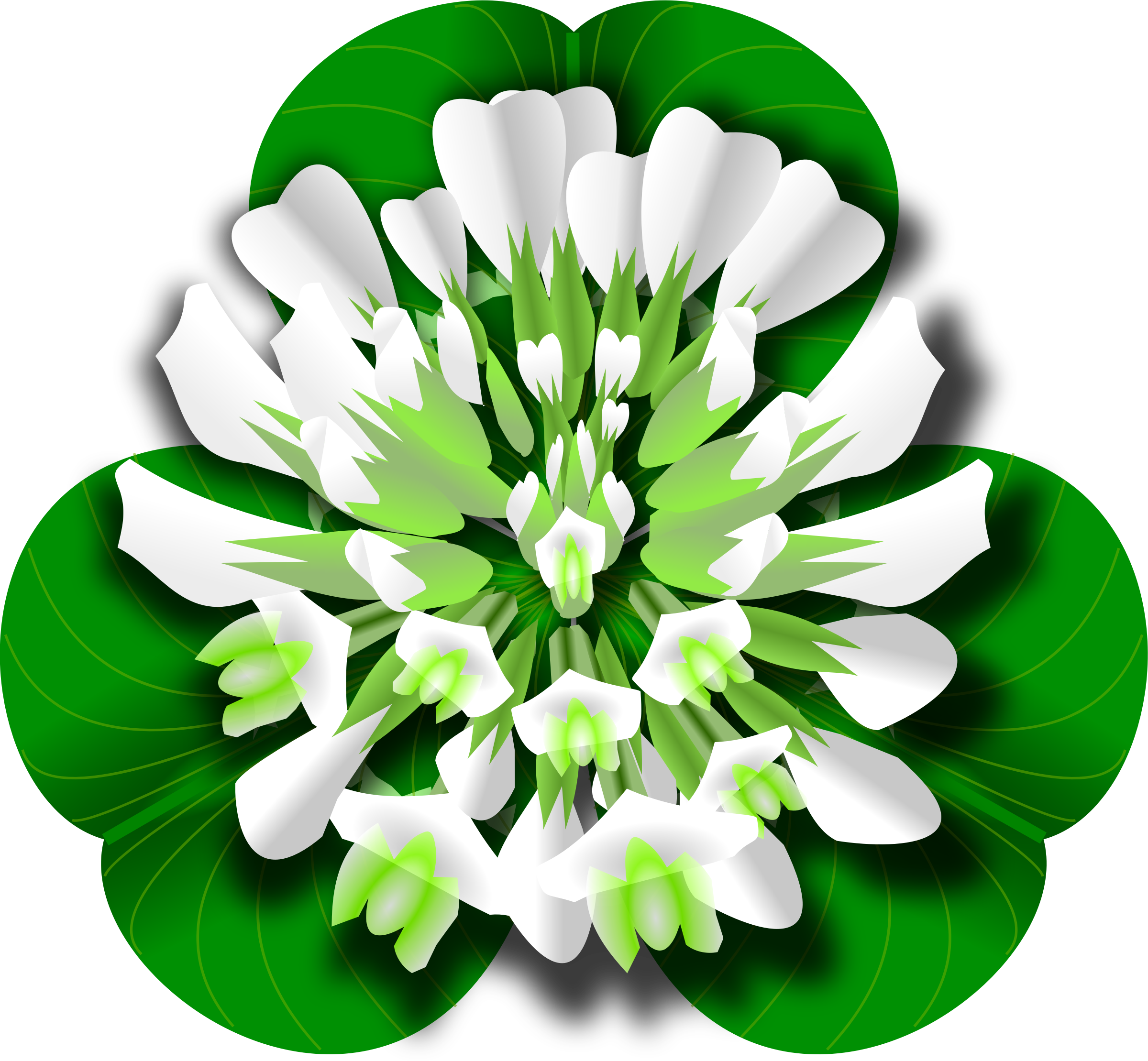 flower leaf clipart - photo #45