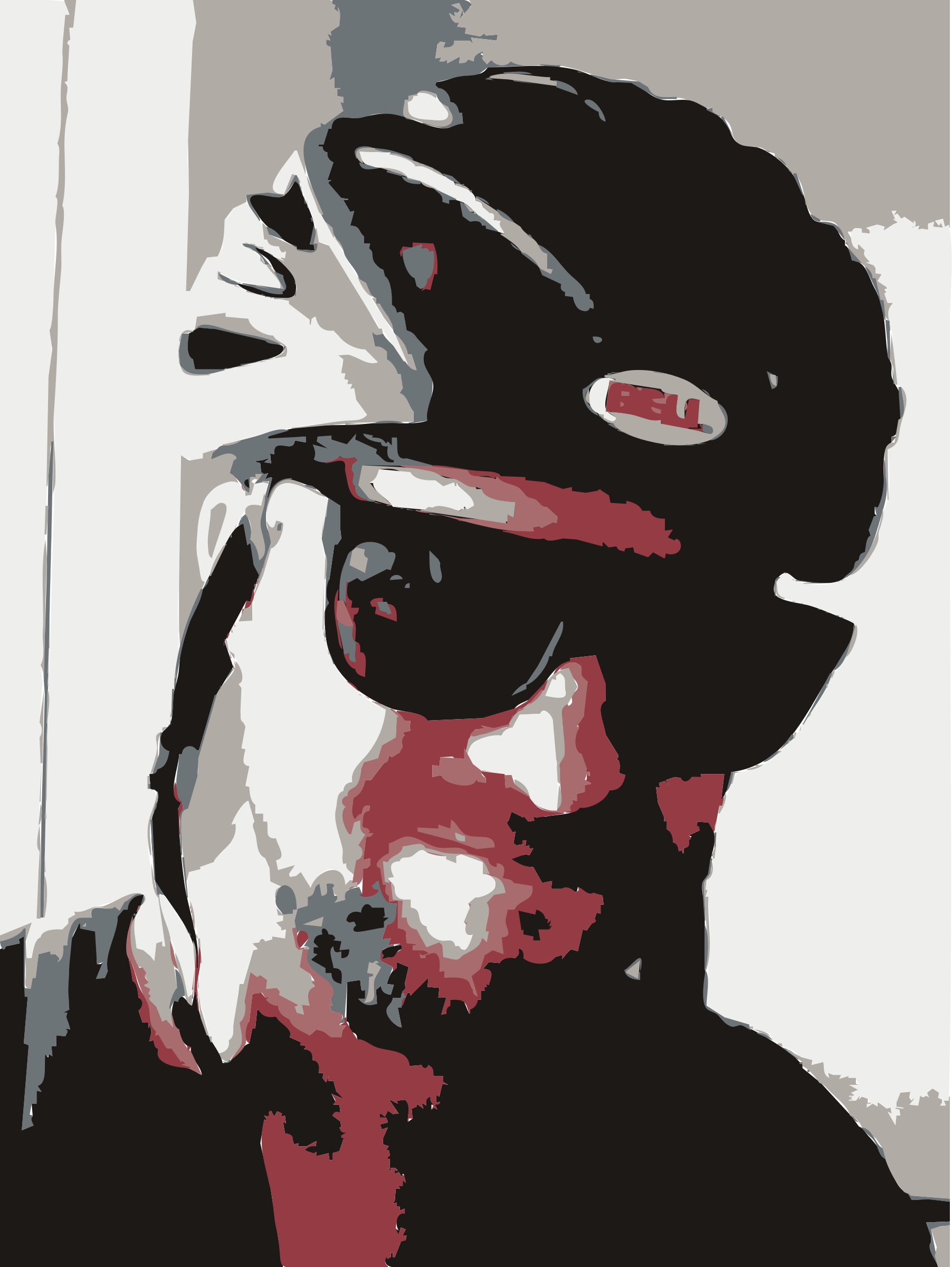 A bike selfie of rejon by rejon