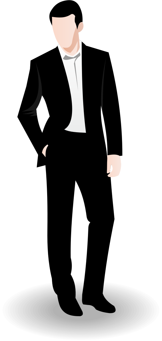 Business man vector by waider
