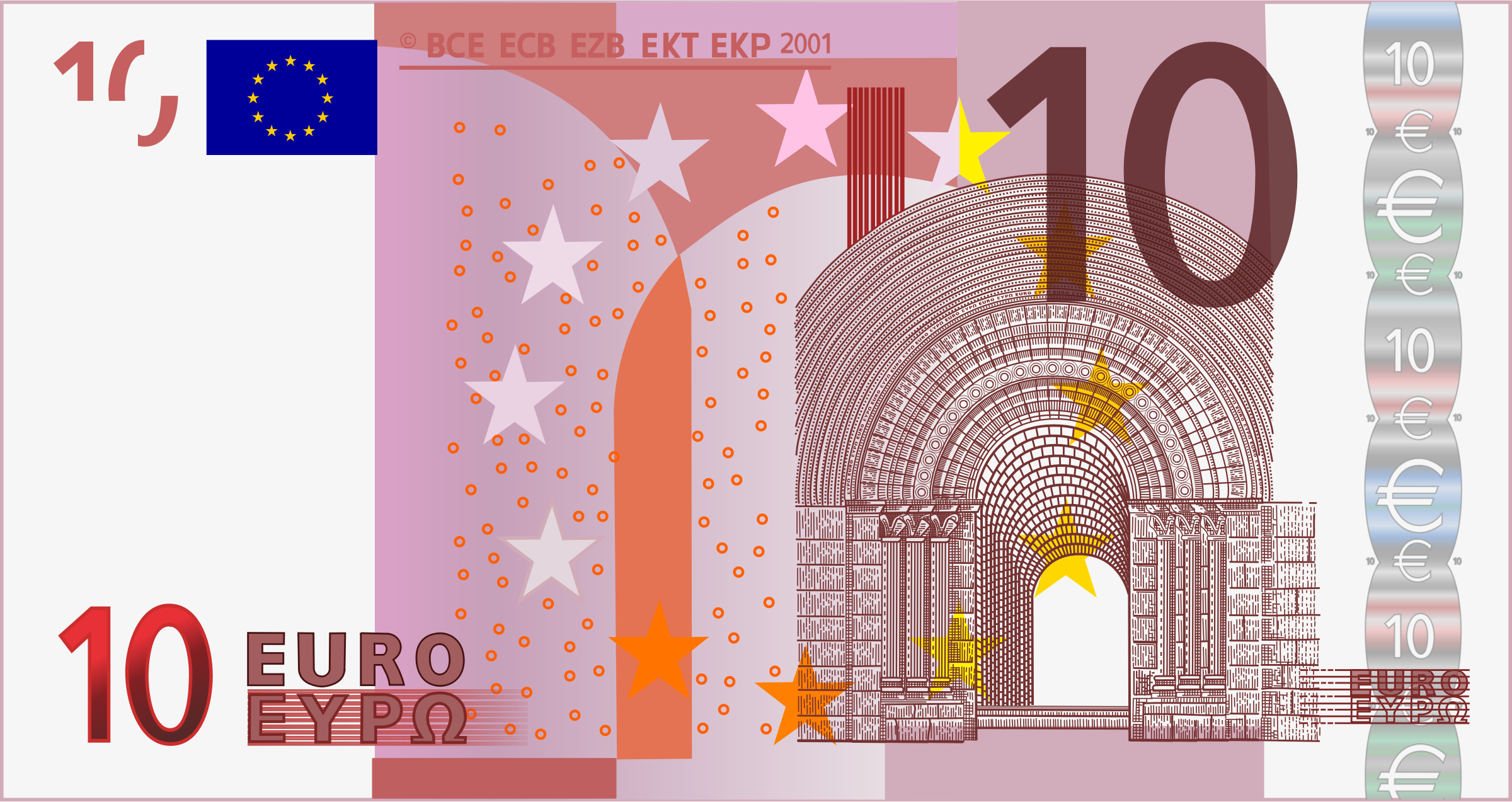 10 Euro Note by frankes