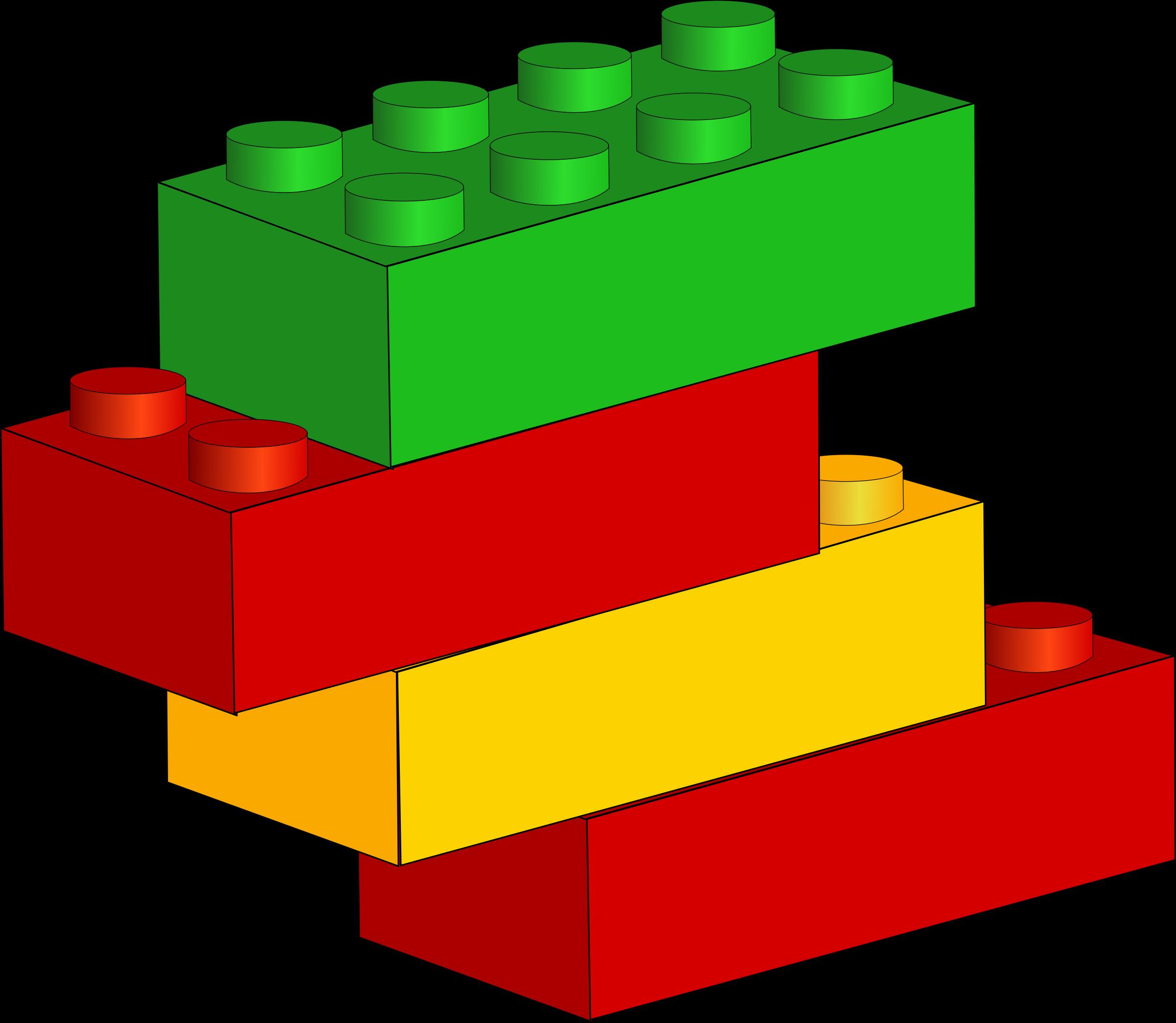 Building Blocks Of Art : Clipart bricks