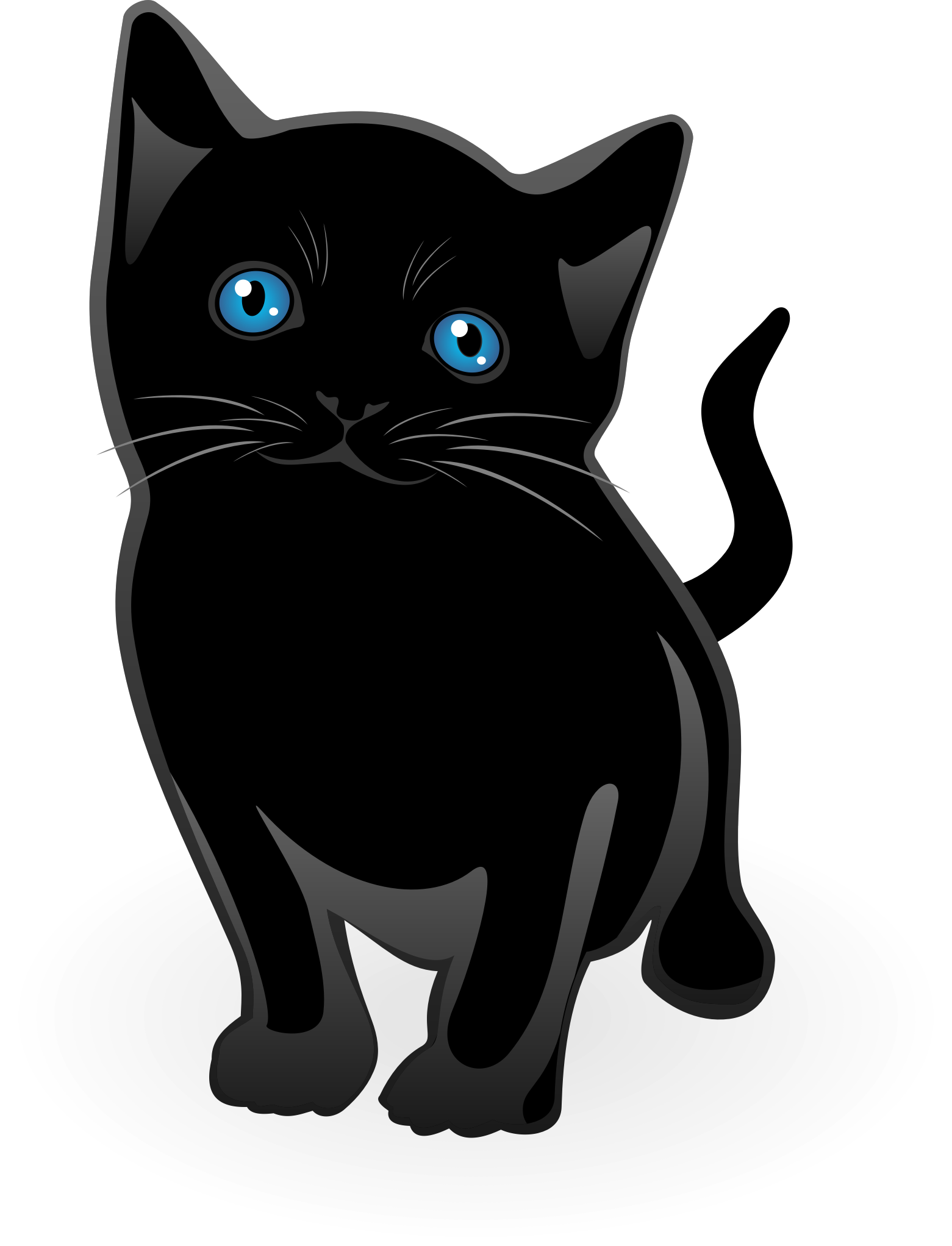 Little cat vector by waider