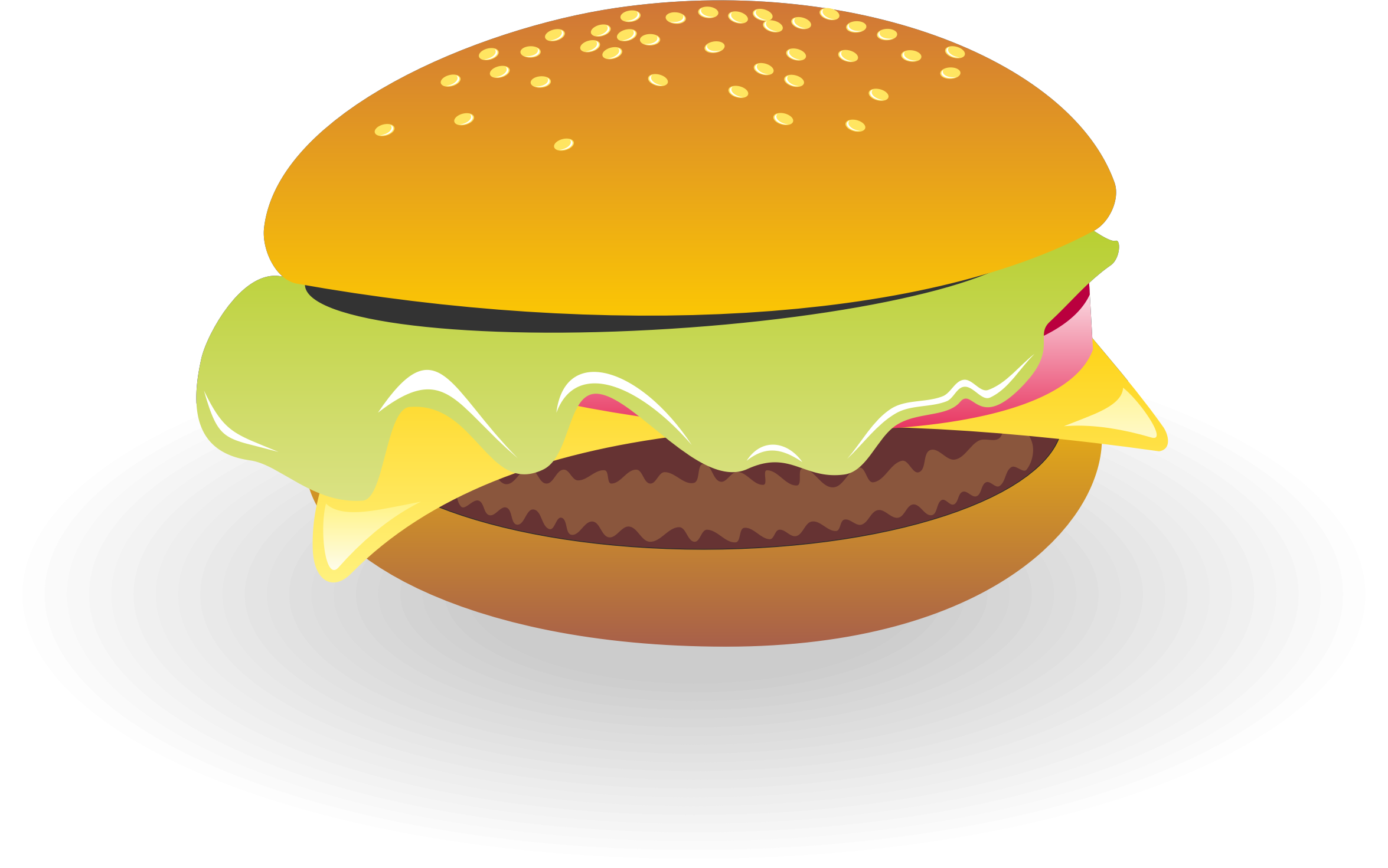 Cheeseburger vector by waider