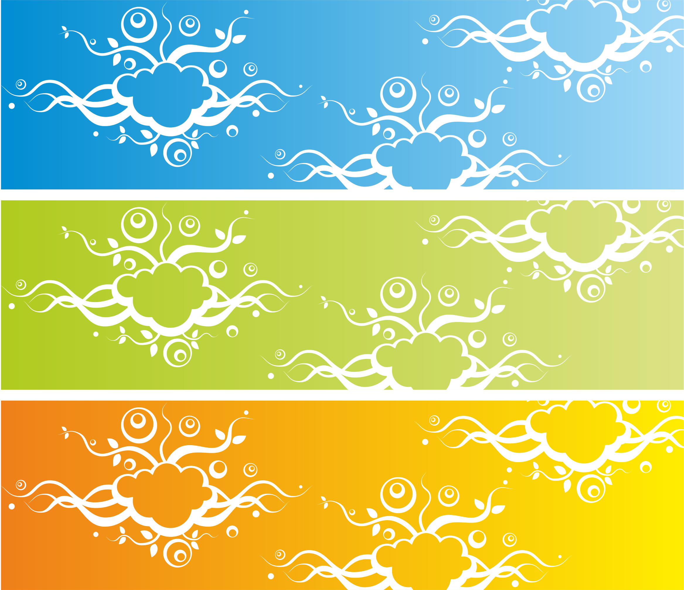 Banner with abstract background by waider
