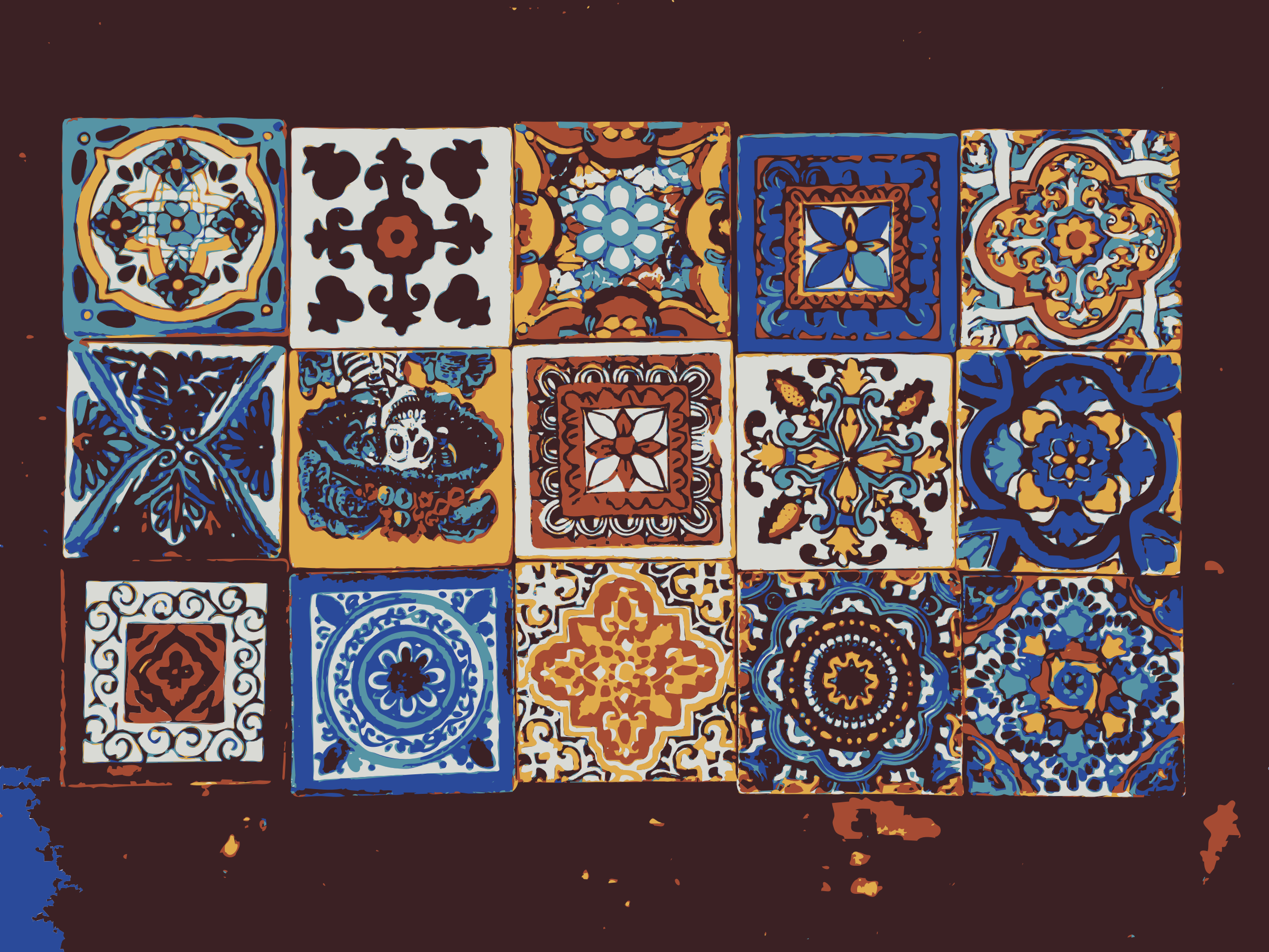 Mexican tiles by dnodnodno