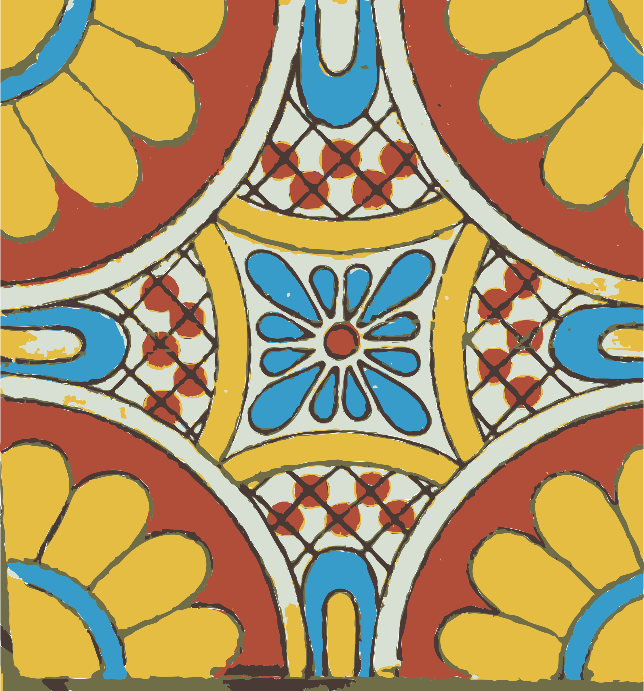 Mexican tile 03 by dnodnodno