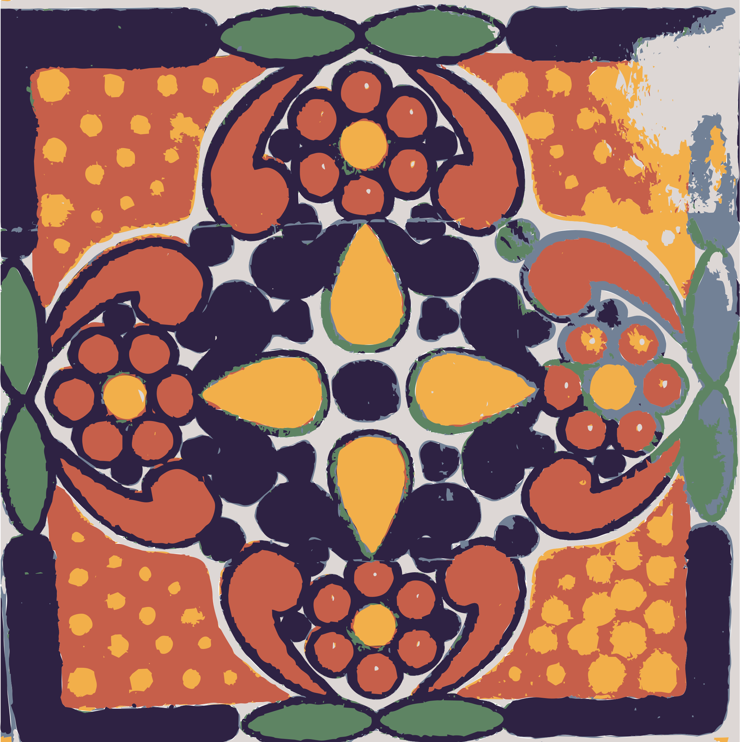 Mexican Tile 04 by dnodnodno