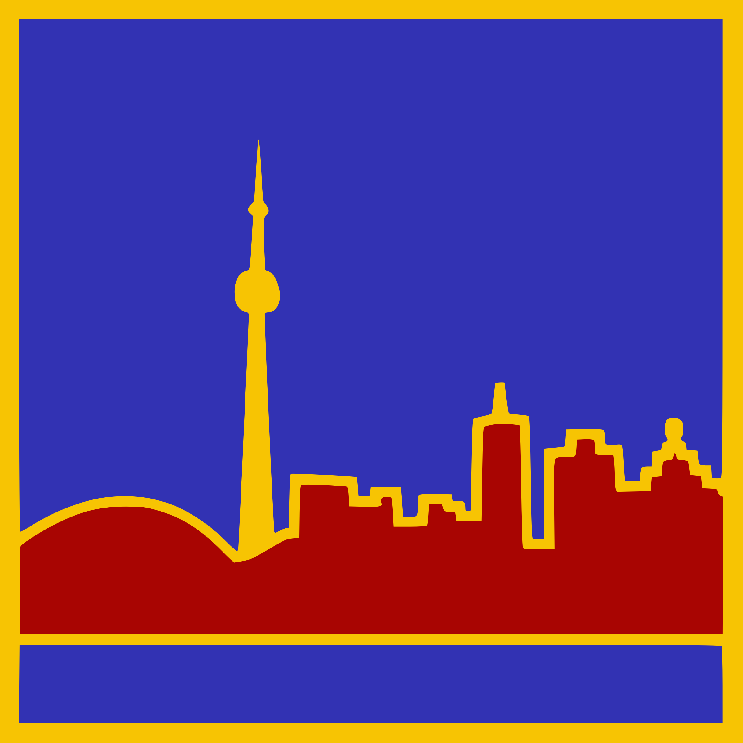 Stylized Toronto Skyline by kapn