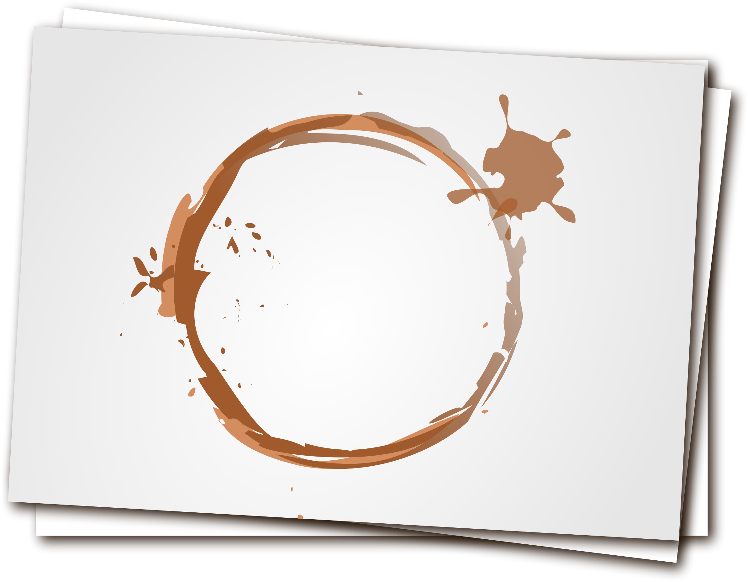 Coffee stain by liftarn