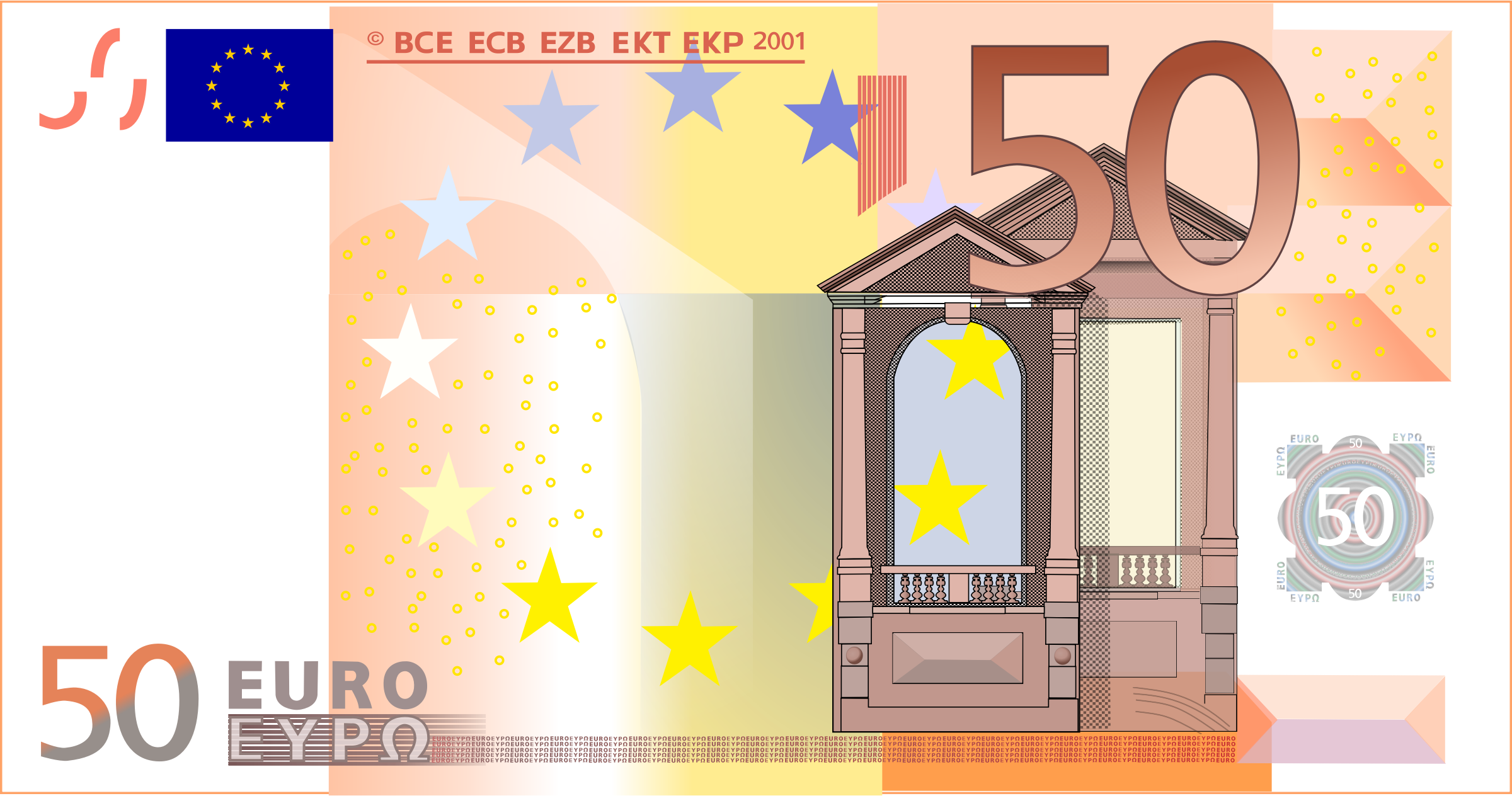 50 Euro Note by frankes