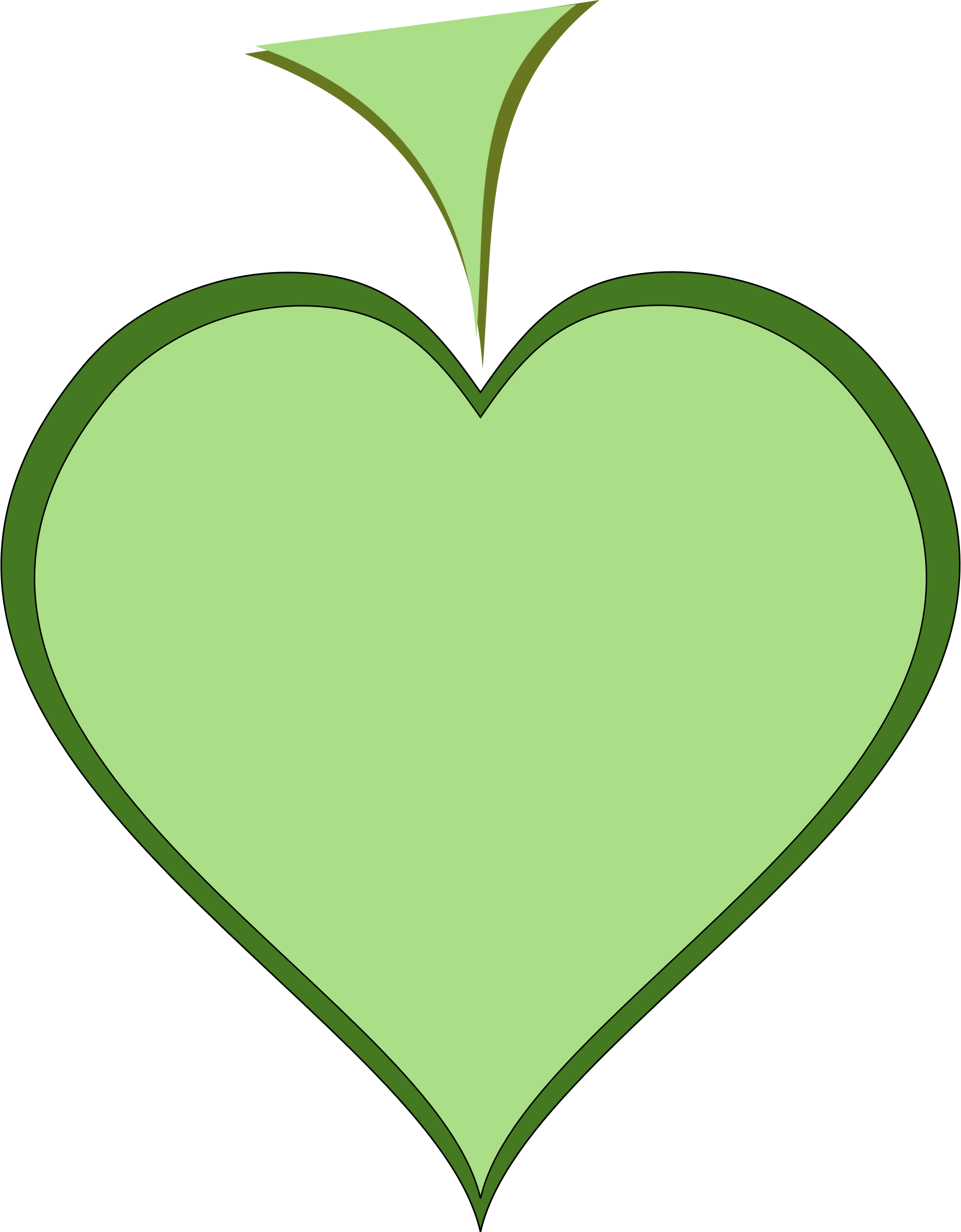 Green Heart by arking