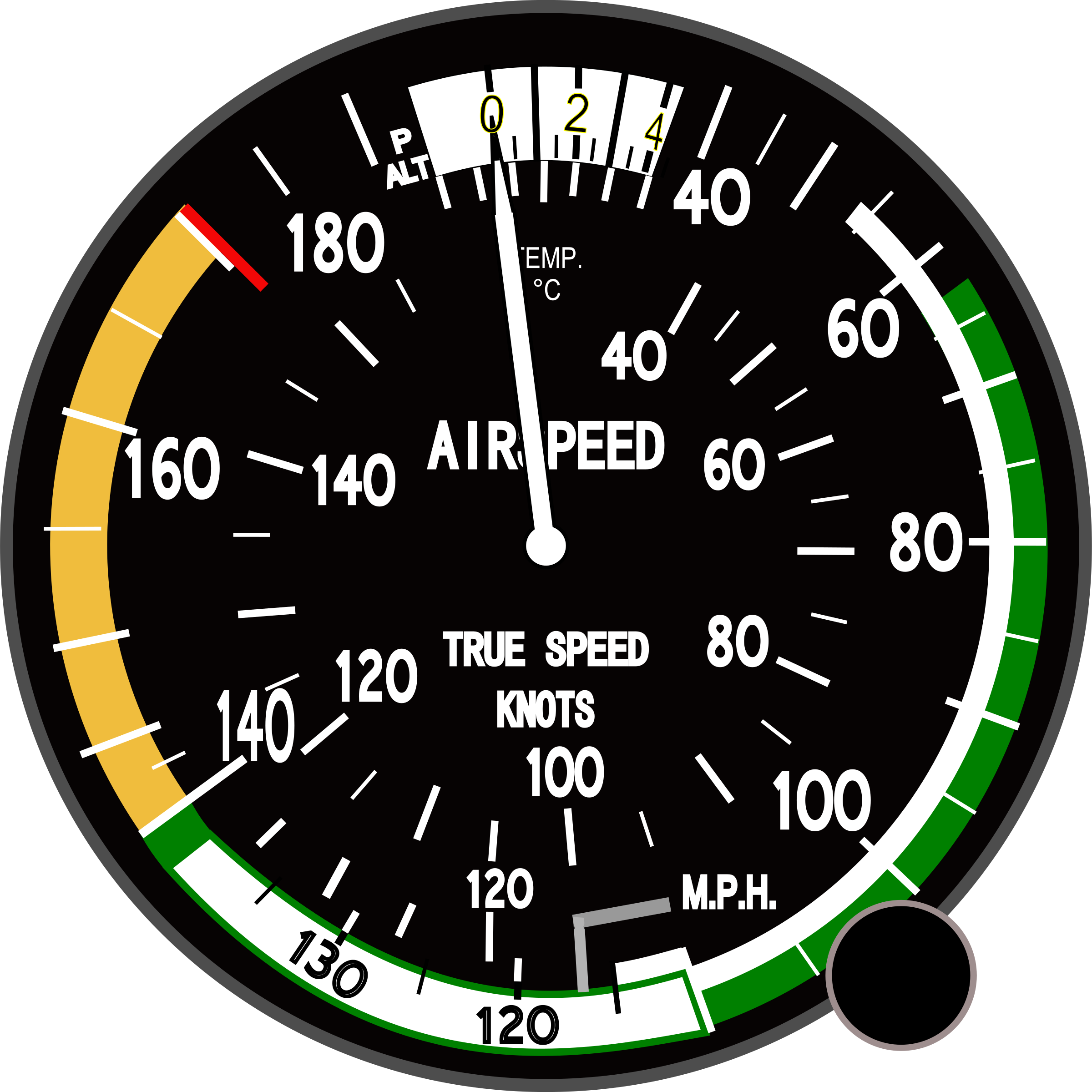 True Airspeed Indicator by Startright