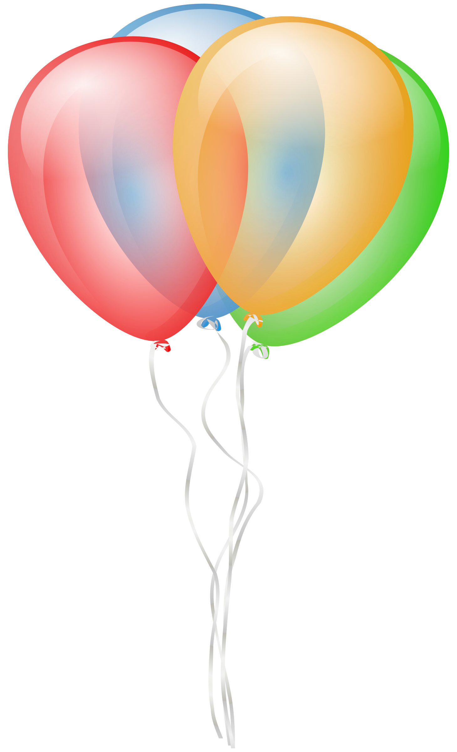 clipart balloons and streamers - photo #45