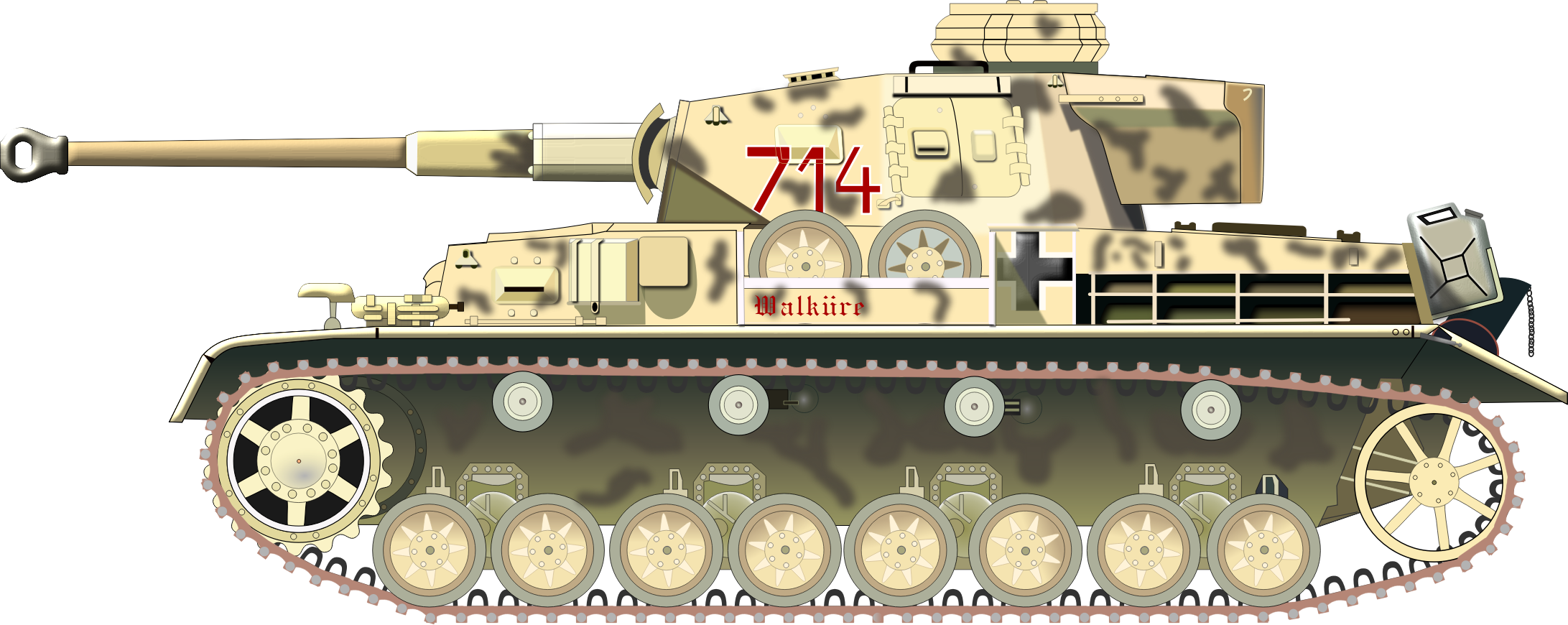PANZER TANK by charner1963