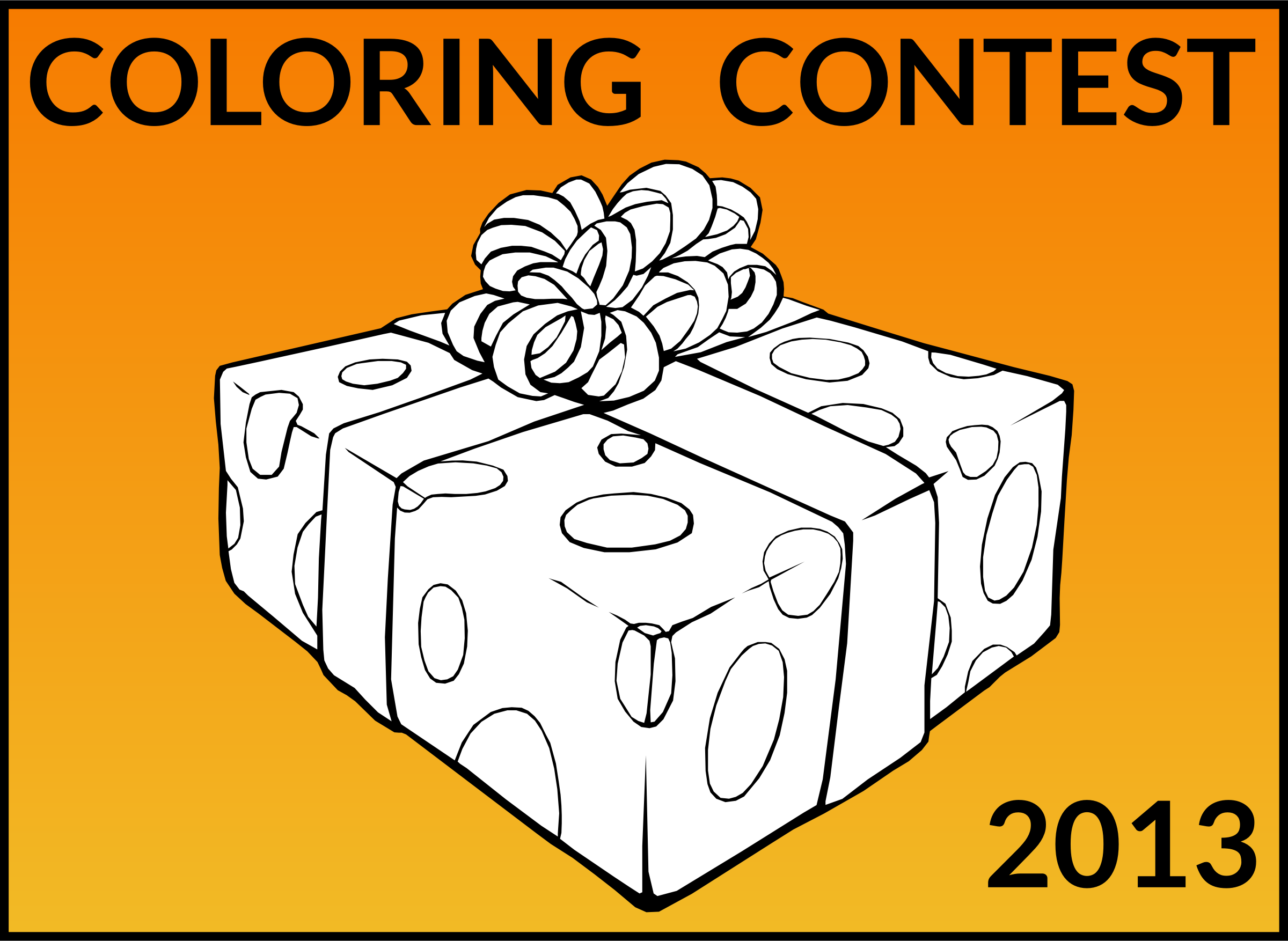 Join Openclipart Coloring Contest! by openclipart