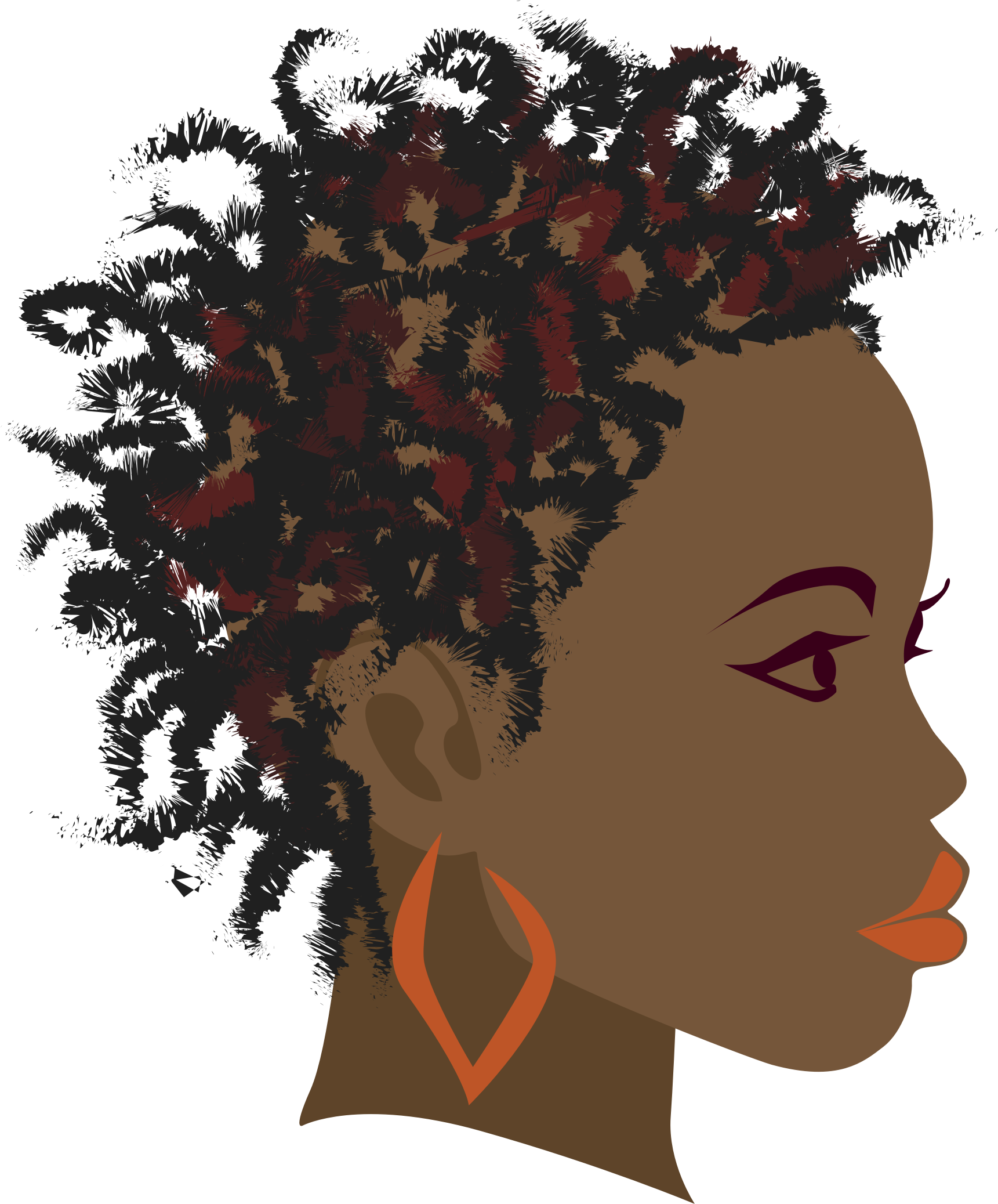 African Girl 2 by hebron