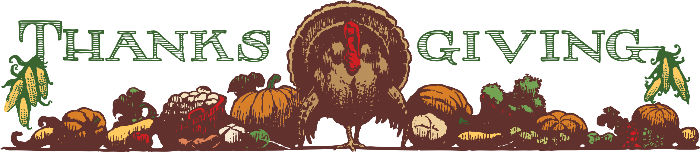 Clipart - thanksgiving header color
